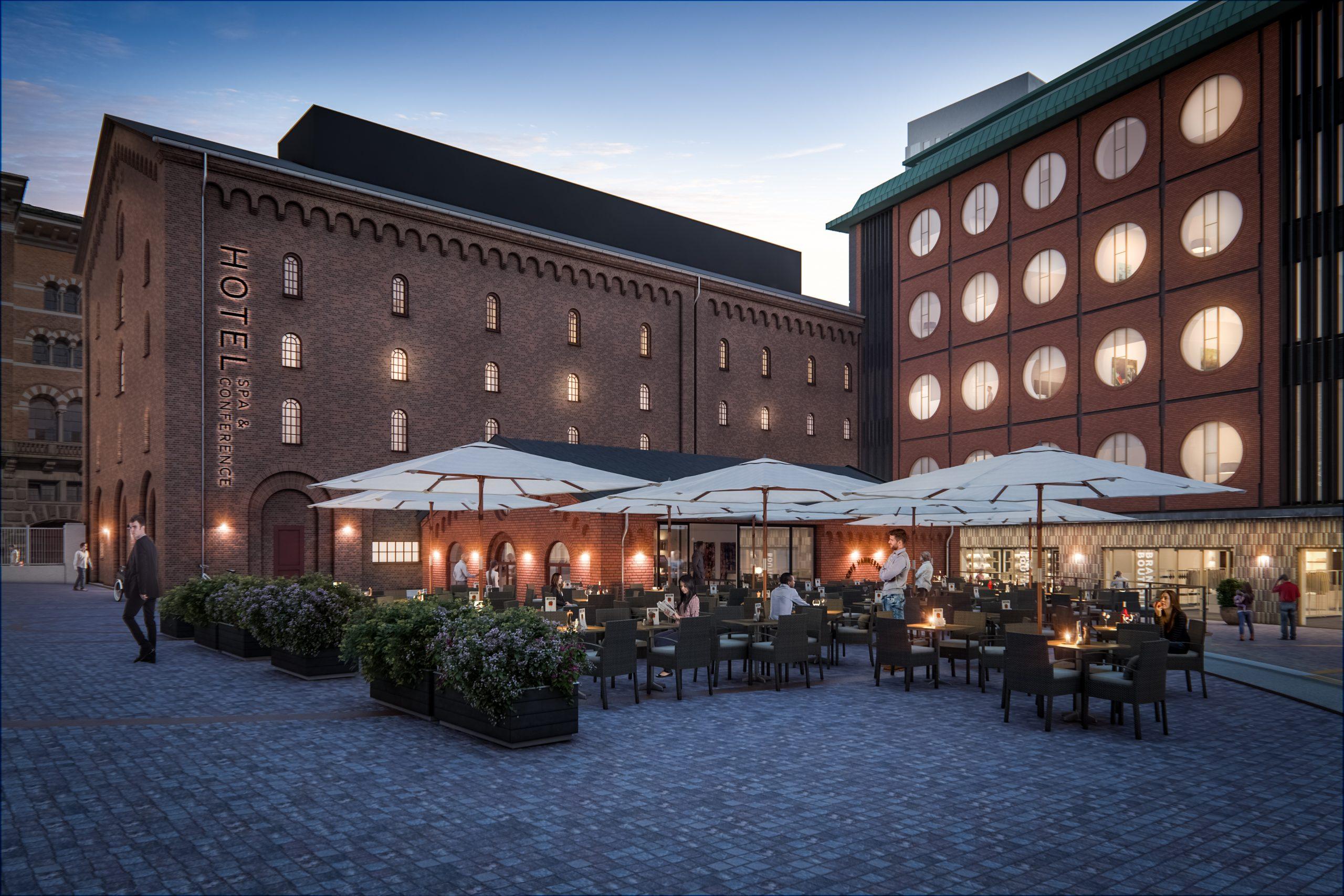 Brøchner Hotels åbnede i januar sidste år kædens hidtil største hotel, Hotel Ottilia i Carlsberg Byen. Pressefoto: Brøchner Hotels.