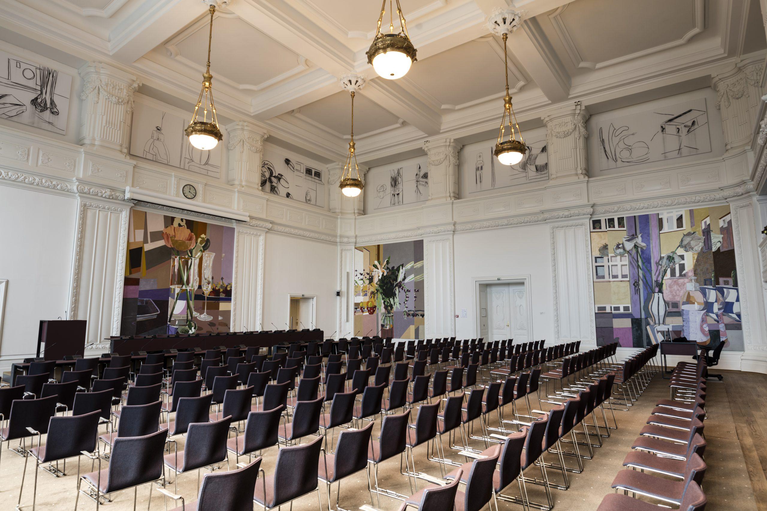 Landstingssalen på Christiansborg er i dag klokken 16 ramme om møde i Det Udenrigspolitiske Nævn med ét punkt på agendaen: de danske rejsevejledninger. Foto for Folketinget: David Kahr.