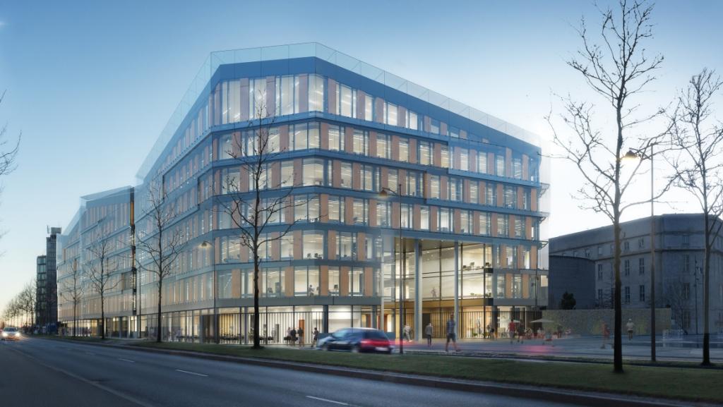 Scandic, Danmarks største hotelkæde, har søgt 82,5 millioner kroner i kompensation fra hjælpepakkerne. Til næste efterår åbner koncernens største hotel, Scandic Spectrum i København med 632 værelser. Illustration Scandic Hotels.