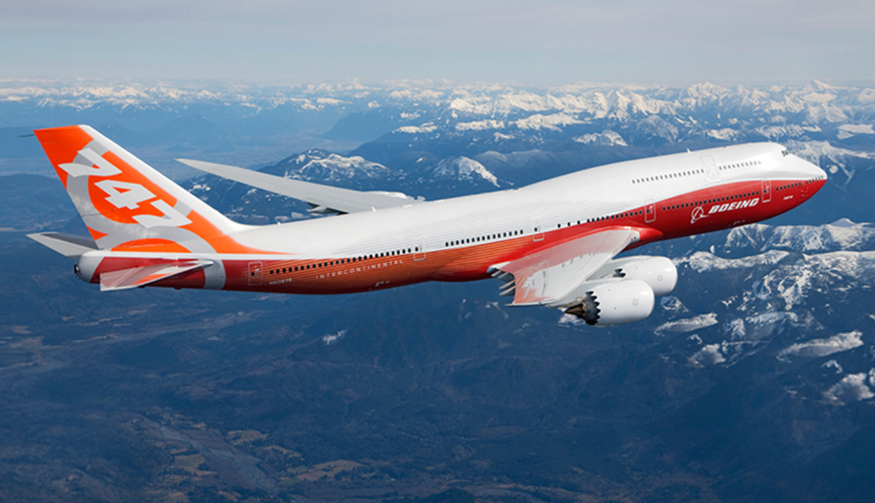Boeing 747-8. Foto: Boeing