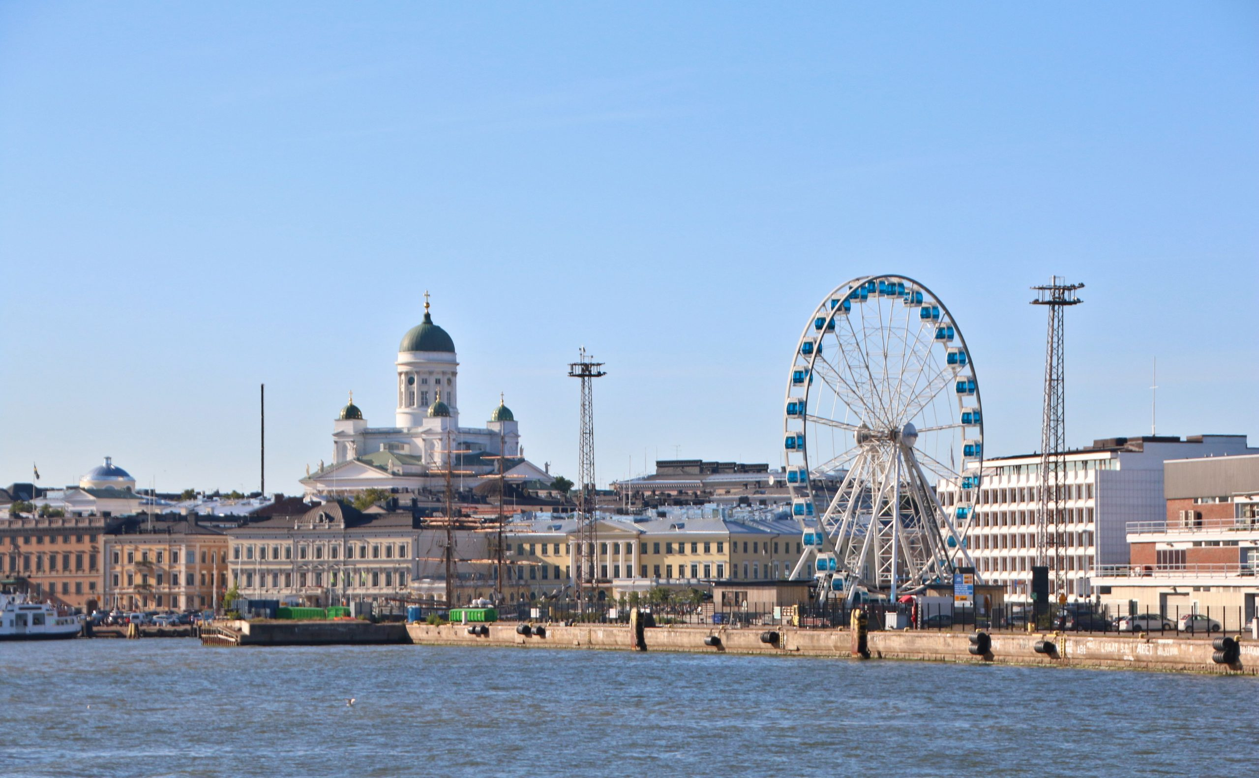 Finland (her billede af Helsinki) er i øjeblikket det 10. mest coronasikre land i verden. (Foto: দেবর্ষি রায়, CC 2.0)