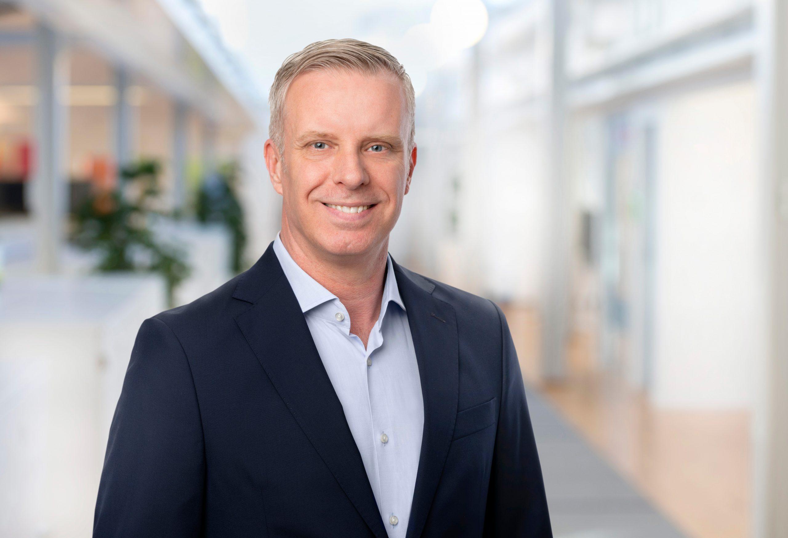 Svenske Johan Nordqvist er ny country manager for reservationssystemet Amadeus i Skandinavien. PR-foto.