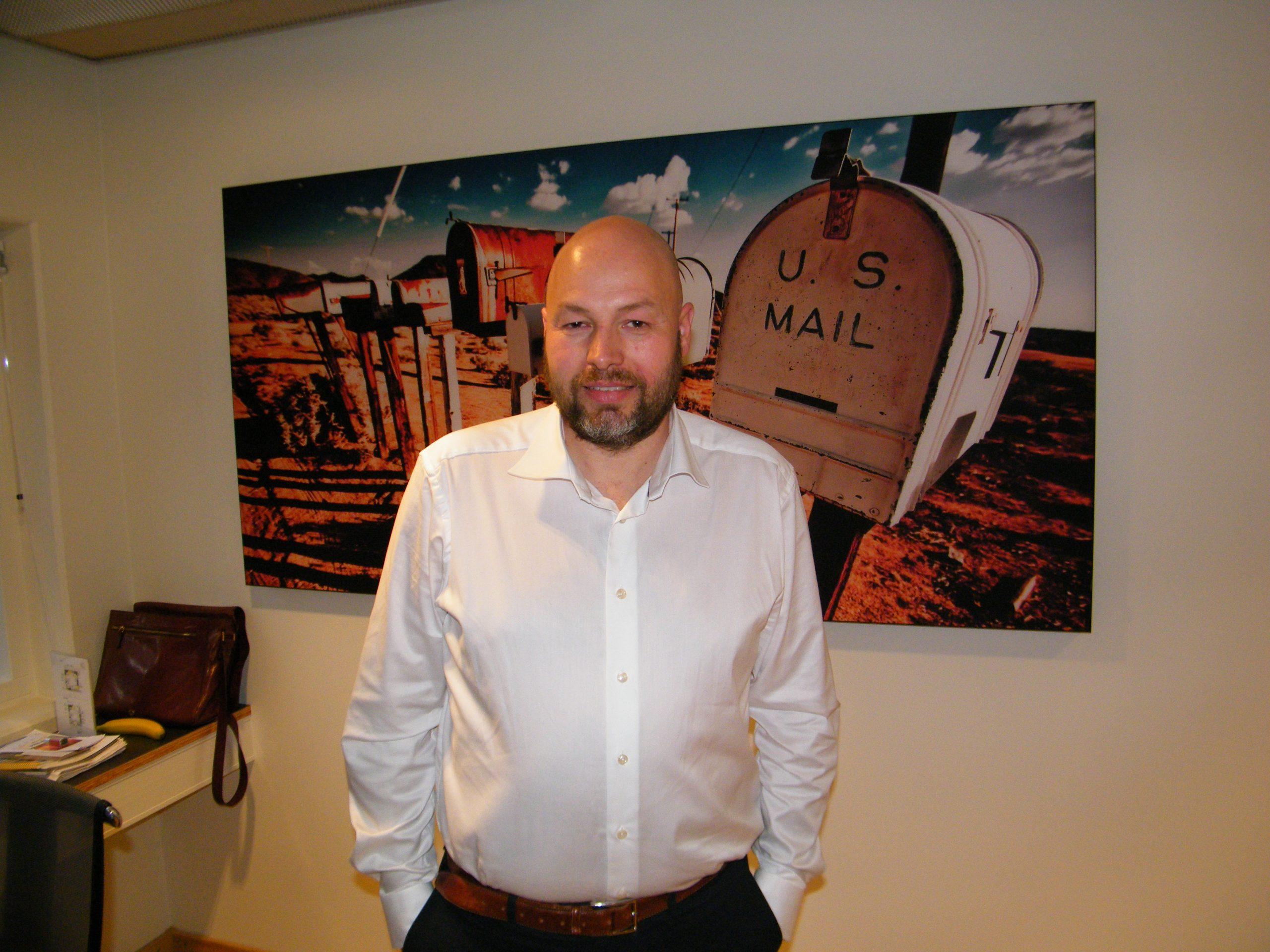"""""""Hvis vi troede markedet var tilbage indenfor et halvt års tid, kunne vi fint stå de nuværende udfordringer igennem, men vi frygter, at der vil gå længere tid,"""" sigerAnders Iversen, administrerende direktør for FDM Travel. Arkivfoto: Henrik Baumgarten."""