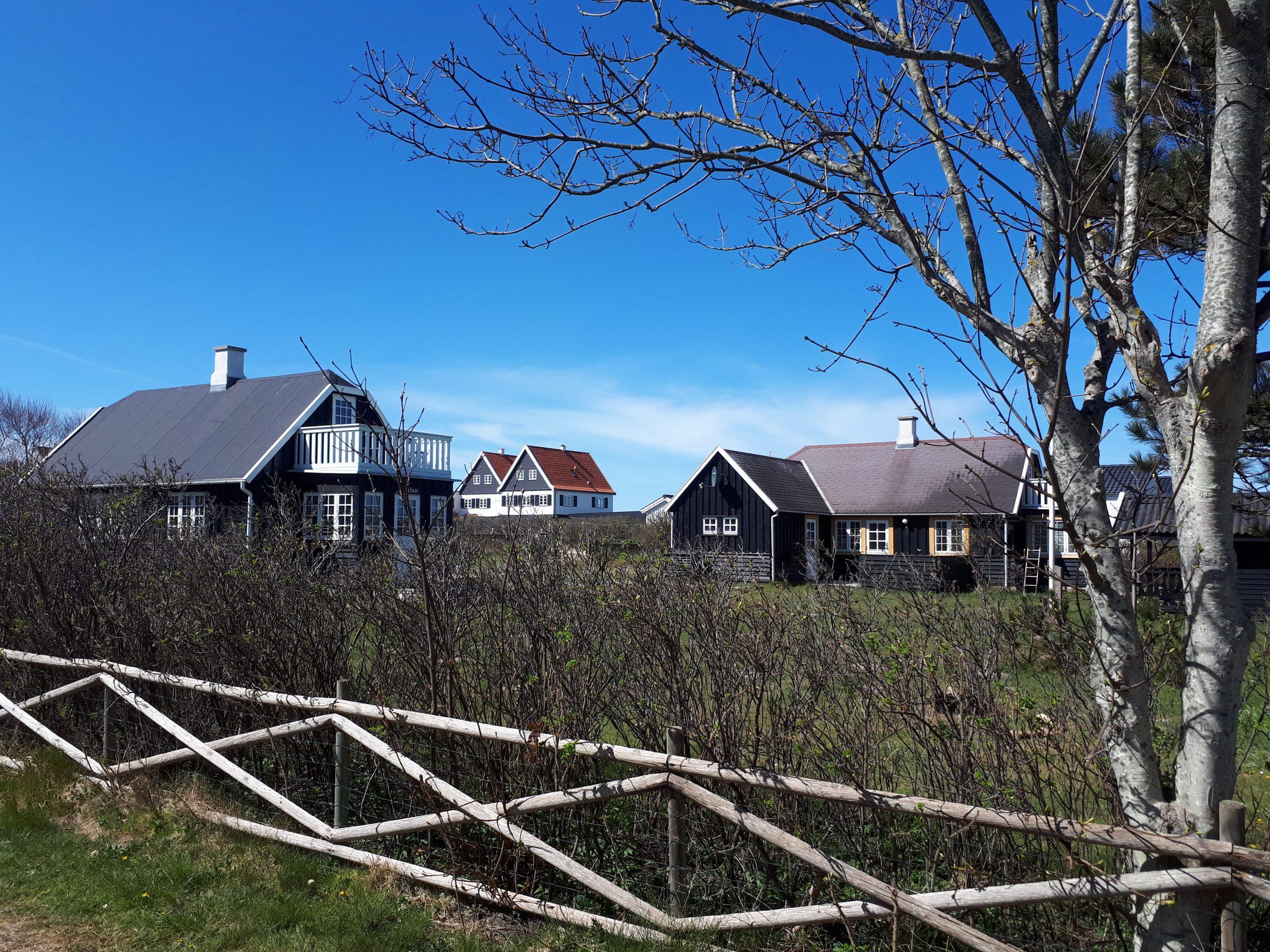 På grund af coronakrisen over regeringens skiftende udmeldinger om de danske rejsevejledninger holder mange flere danskere end normalt i år ferie i et sommerhus. Arkivfoto: Henrik Baumgarten.