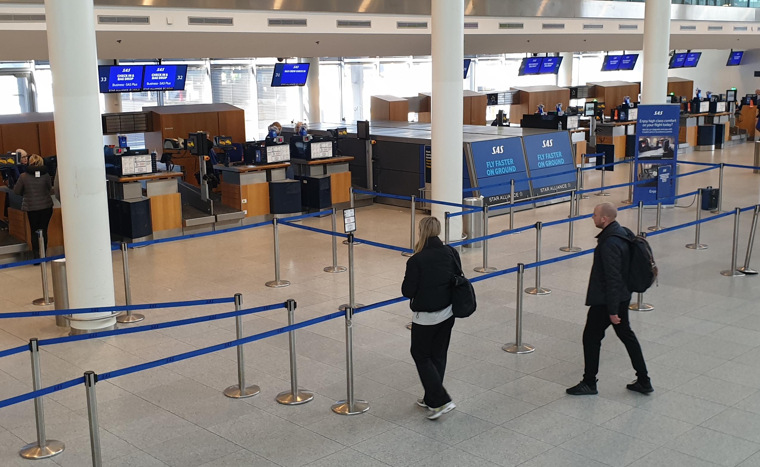 Når virksomheder igen begynder at sende medarbejdere på firmarejser er der som følge af coronakrisen behov for en bred vifte af informationer. Arkivfoto fra Københavns Lufthavn: J. Hahn.