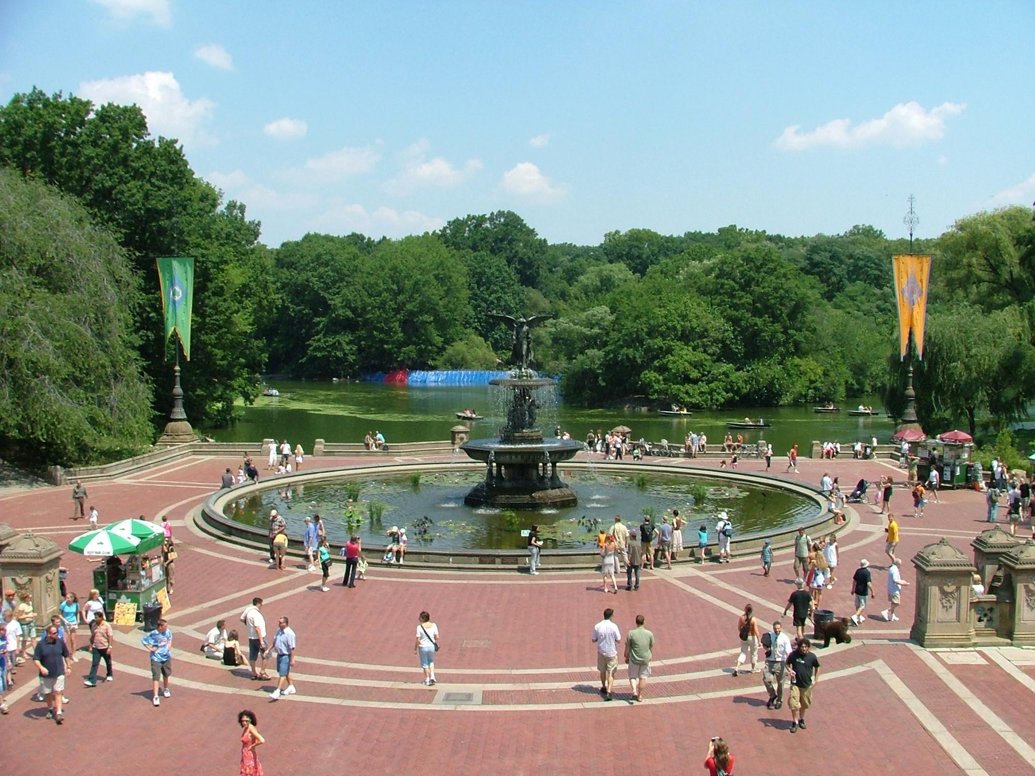 Central Park er en af New Yorks mange attraktioner, for byens egne borgere som de mange millioner turister fra ind- og udland. Arkivfoto: Henrik Baumgarten.