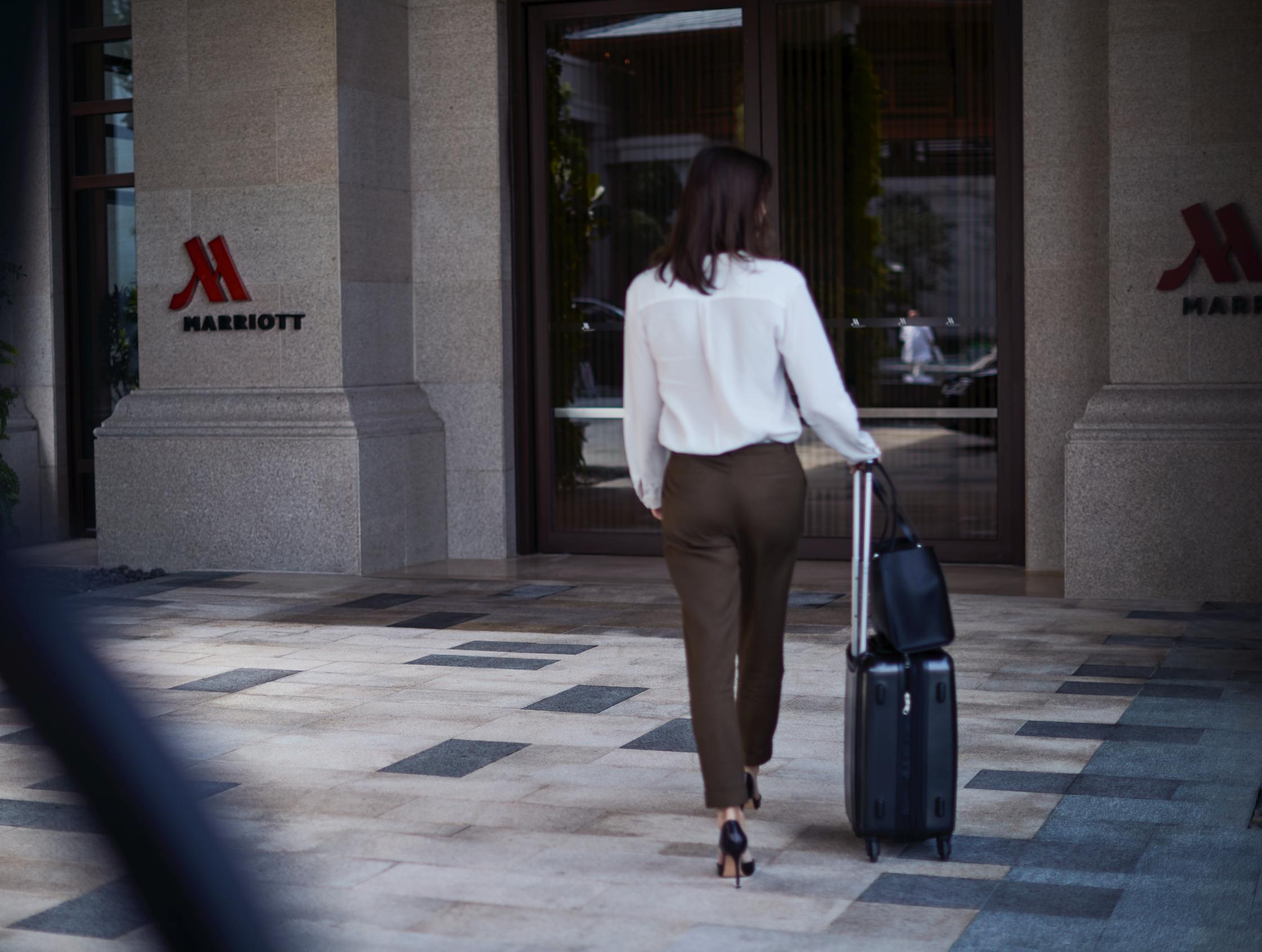 Marriott-koncernen er idømt af bøde fra EU på over 800 millioner kroner for ikke at have passet på gæsternes data. Nu har en af de berørte gæster anlagt sag på vegne af flere millioner gæster, så de også får kompensation. Arkivpressefoto fra Marriott International.