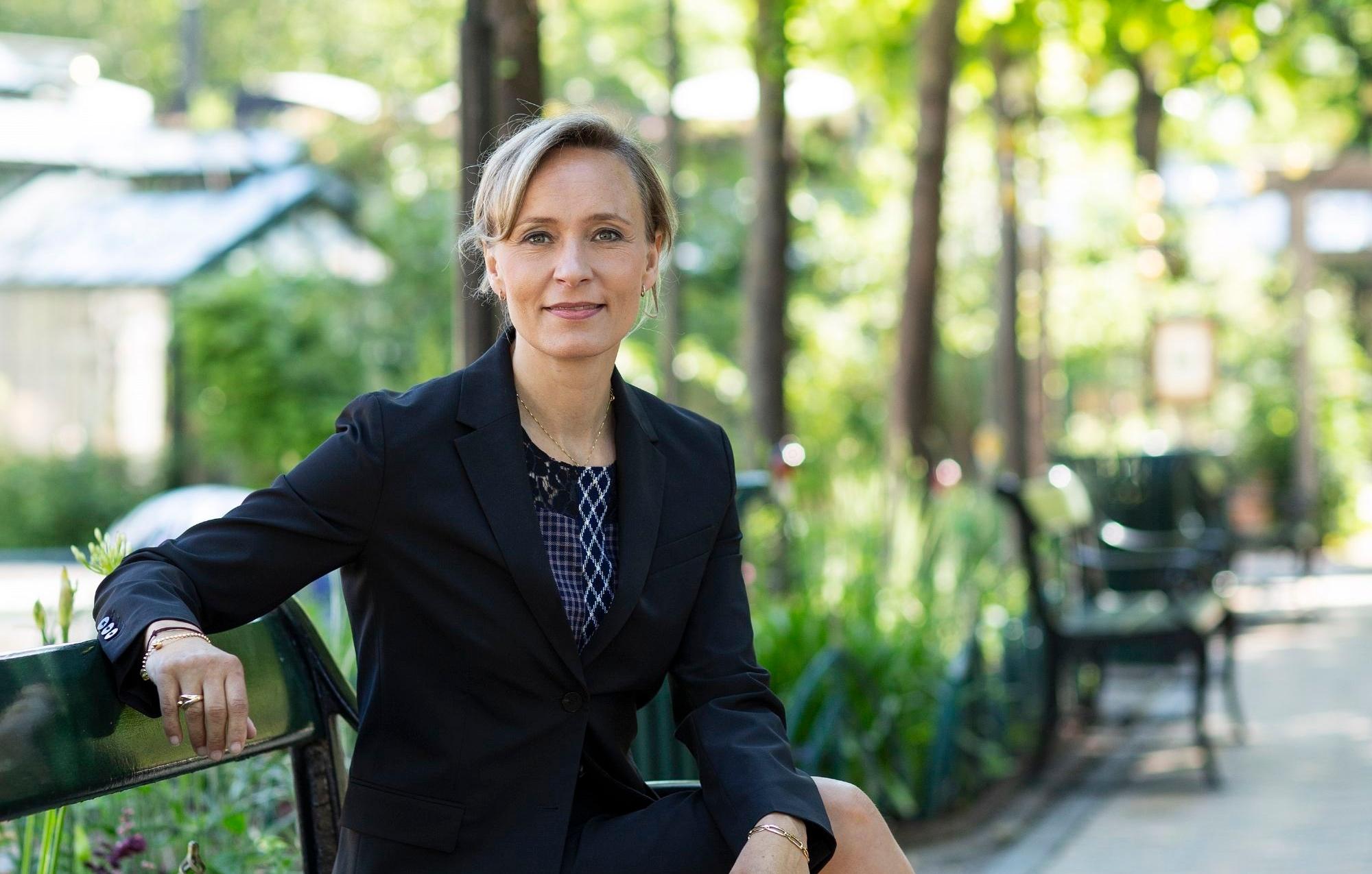 Susanne Mørch Koch er fra i dag ny administrerende direktør i Tivoli, hentet fra tilsvarende stilling i Danske Spil. Pressefoto: Anders Hviid.