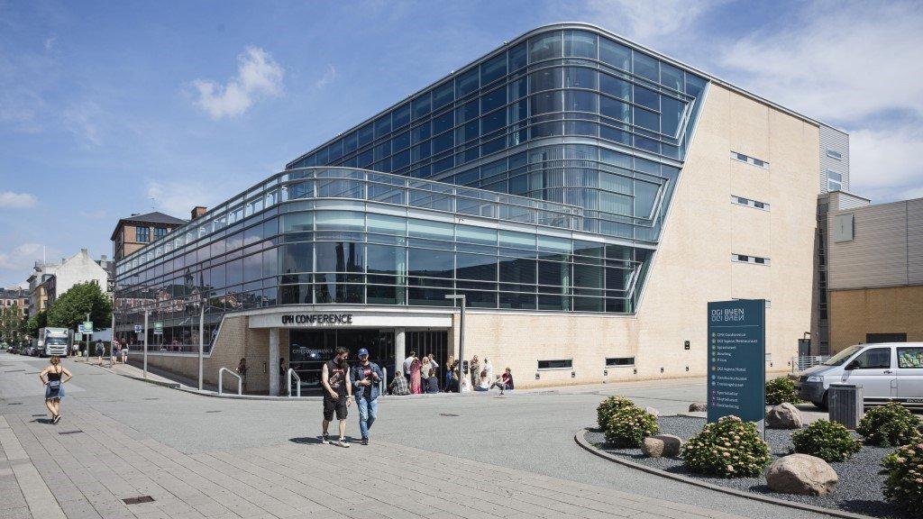 DGI Byen i København består af CPH Hotel, Vandkulturhuset og Øksnehallen samt, på billedet, CPH Conference. Pressefoto: DGI Byen.