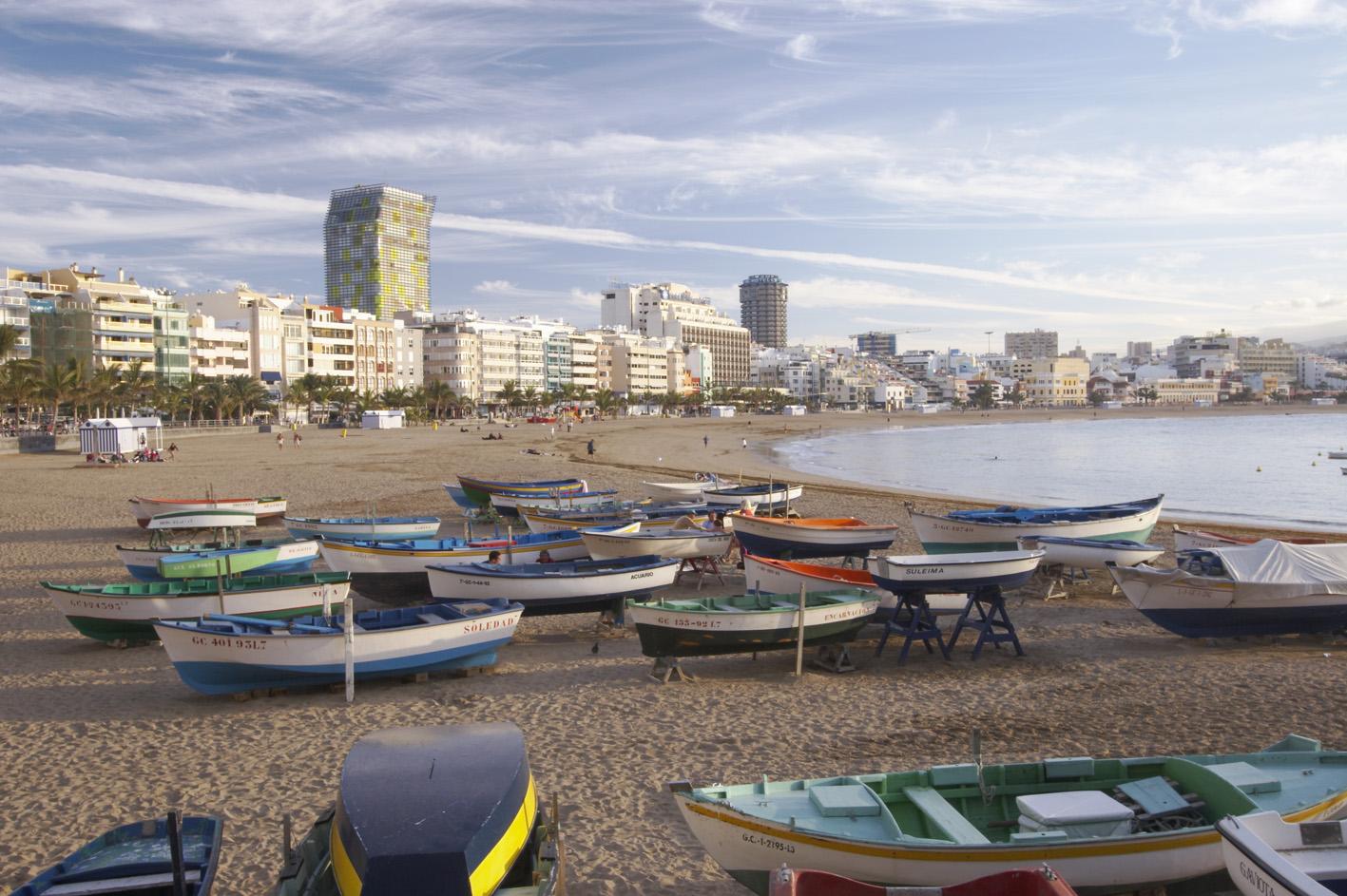 Sidste år var der 1,2 millioner danske ankomster til Spanien, heraf 312.000 på De Kanariske Øer, for eksempel her: Gran Canaria. Arkivpressefoto: Den Spanske Stats Turistbureau.