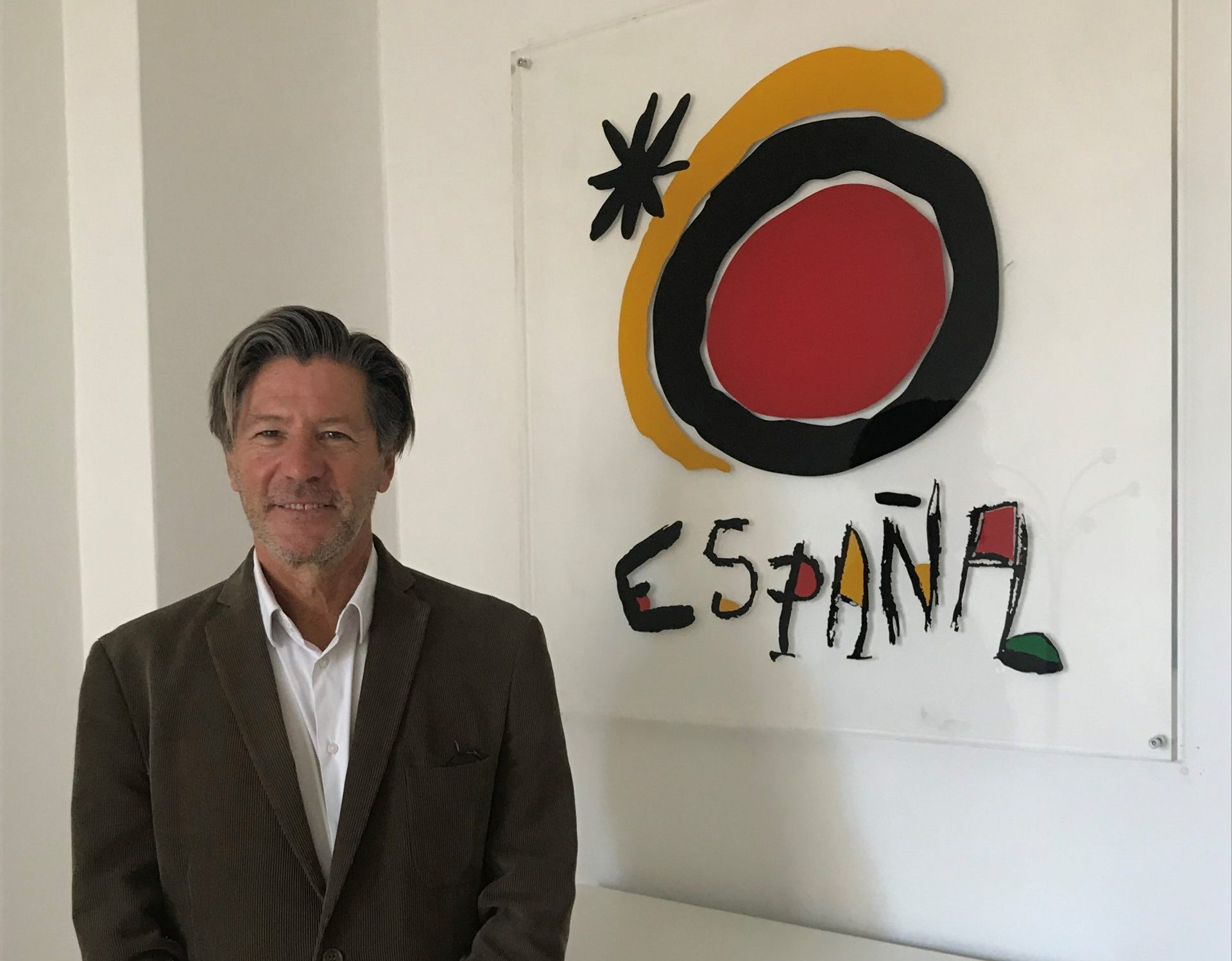 Jose Luis Real Moreno er ny direktør for Den Spanske Stats Turistbureau i København. Foto: Maria Diaz.