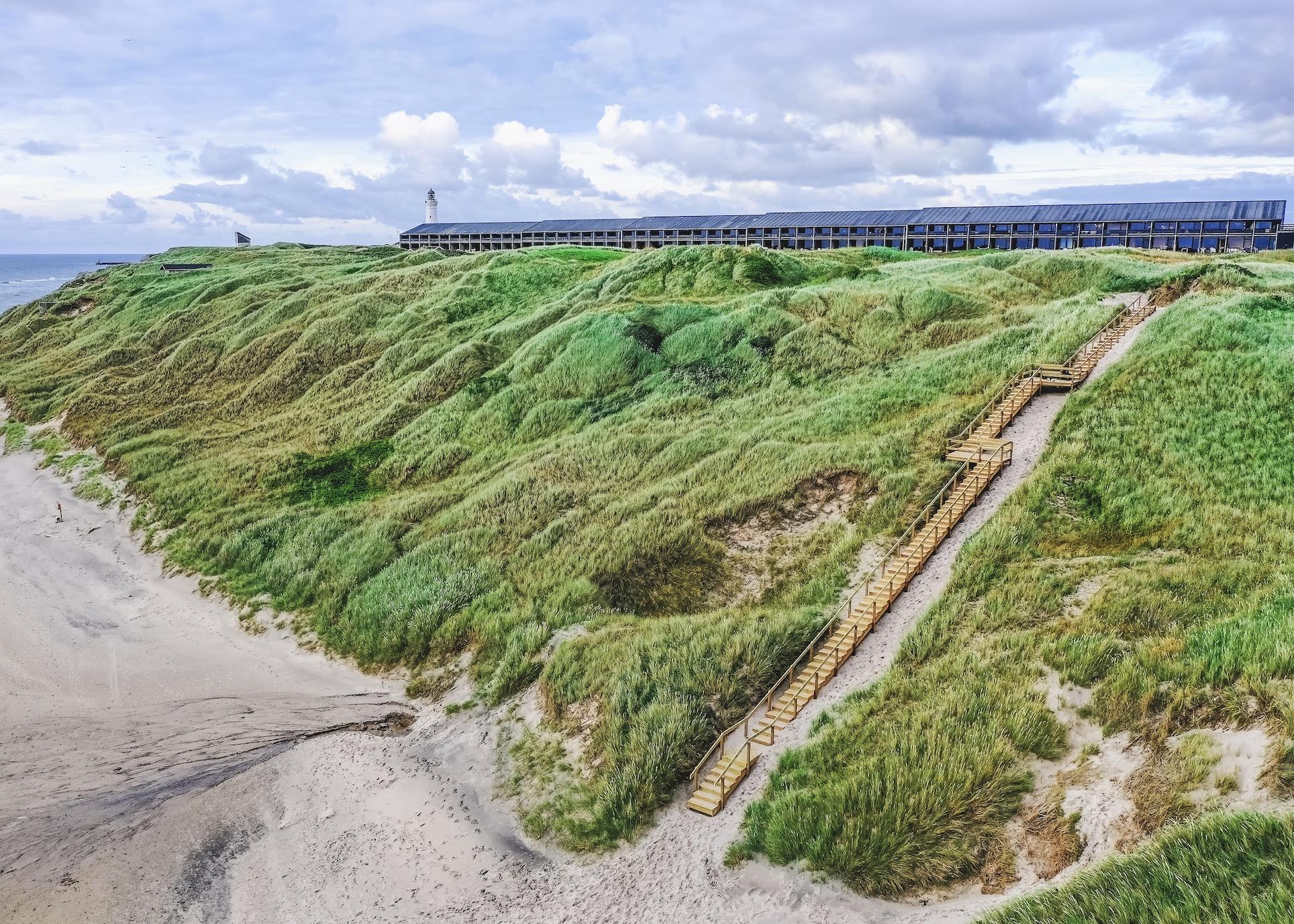 I starten af næste år bliver Fyrklit ved Hirtshals en del af Landal GreenParks og skifter navn til Landal Fyrklit. Pressefoto fra Landal GreenPartks: Rene Stoklund.