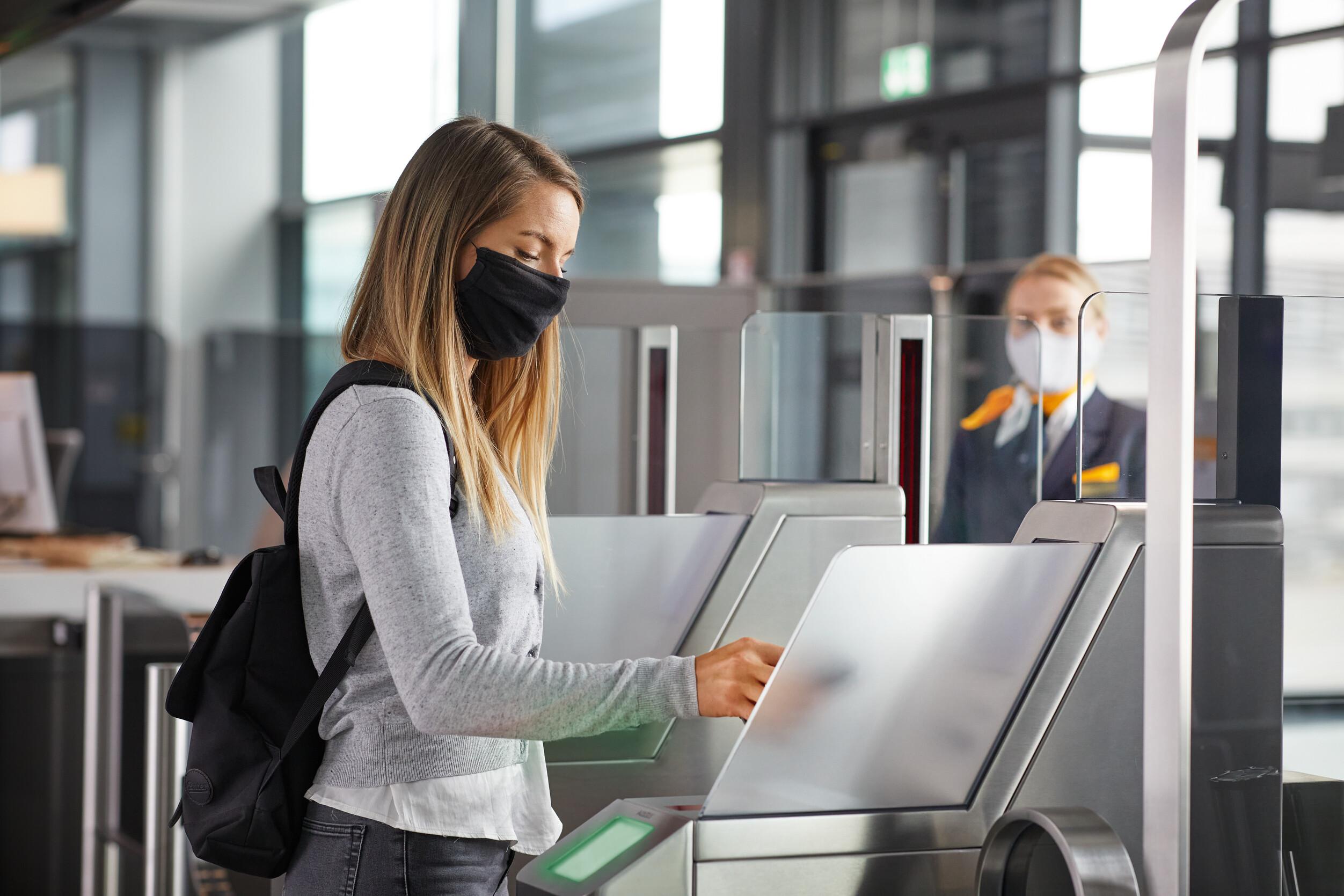 Flytrafikken er faldet dramatisk under coronakrisen. Arkivpressefoto: Lufthansa.