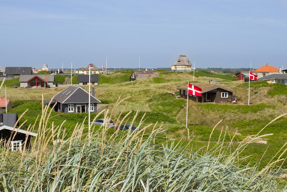 I et normalt år er der cirka 20,7 millioner sommerhusudlejninger i Danmark, hvoraf tyskerne står for de 13 millioner. Pressefoto fra DanCenter.