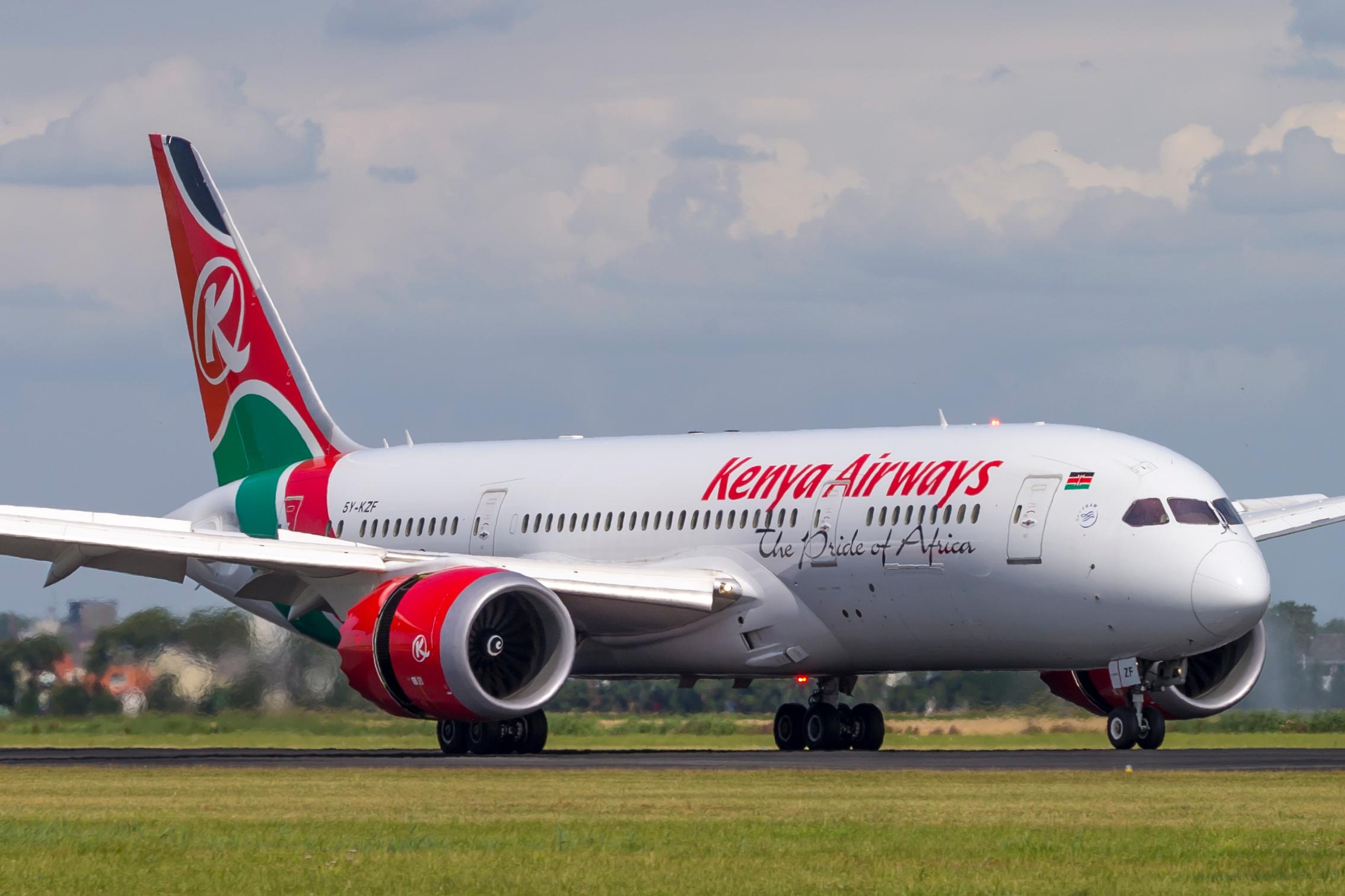 Kenya Airways har nu landet en europæisk repræsentationskontrakt med GSA-virksomheden APG. Her er det en Boeing B787 Dreamliner fra Skyteam-medlemmet. Arkivfoto: © Thorbjørn Brunander Sund, Danish Aviation Photo.