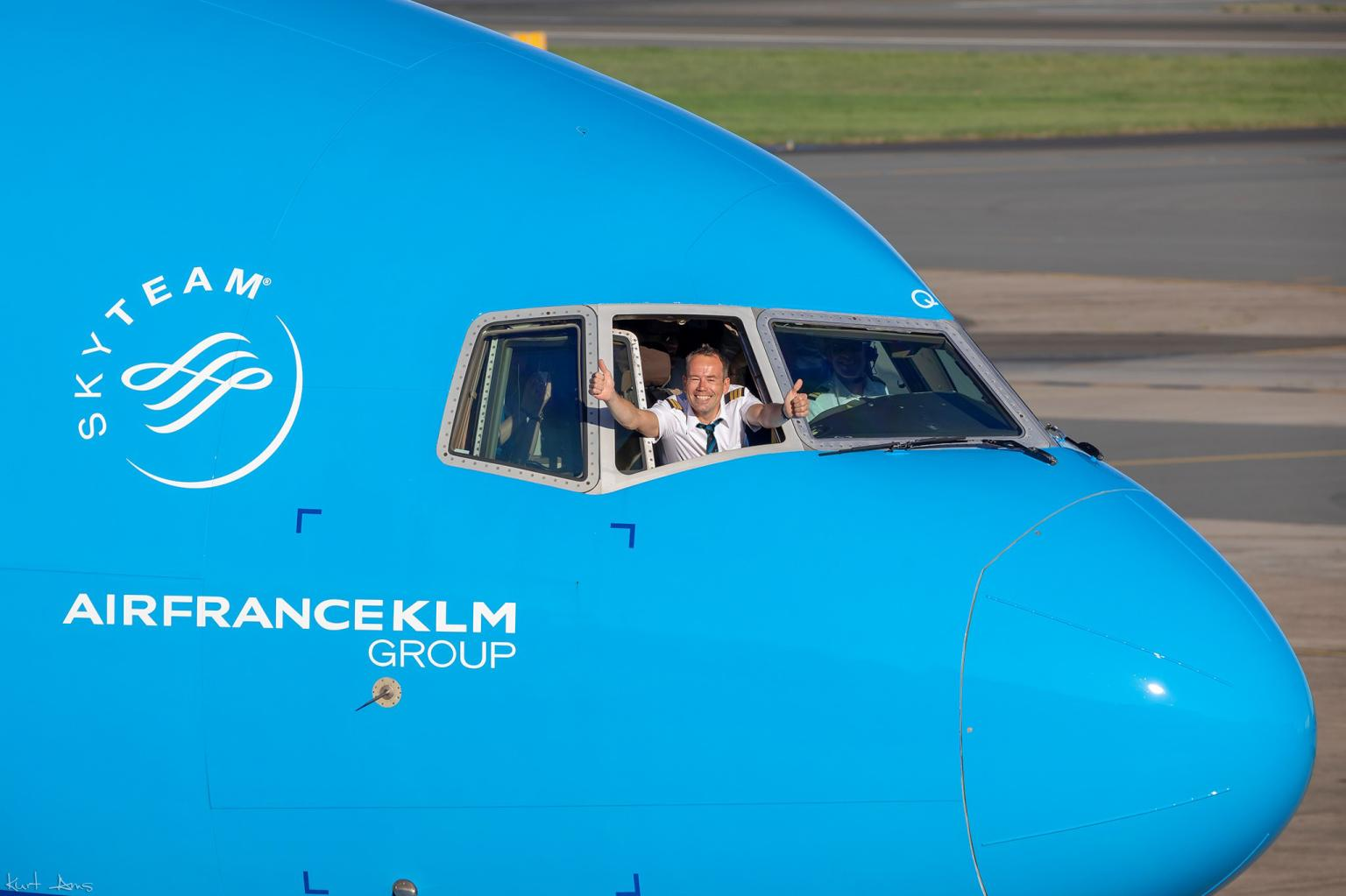 Air France-KLM gruppen har forstærket sit samarbejde med Amadeus indenfor NDC-området. Arkivfoto fra Air France-KLM.