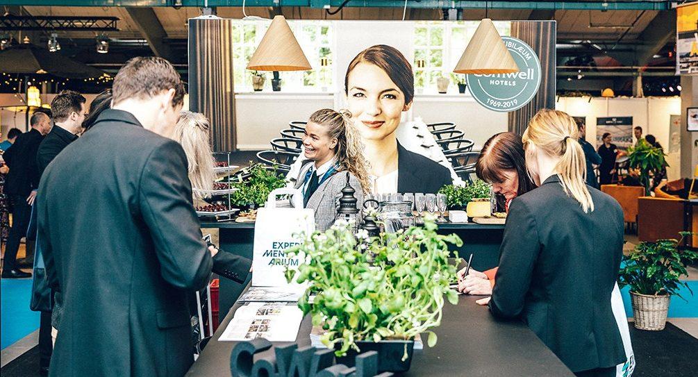 Fra sidste års Nordic Meetings & Events Expo, messen gennemføres i dag, onsdag, og i morgen med blandt andet stort fokus på coronasikkerhed. Foto for Kursuslex: Chad T. Charlton, CTC Photography.