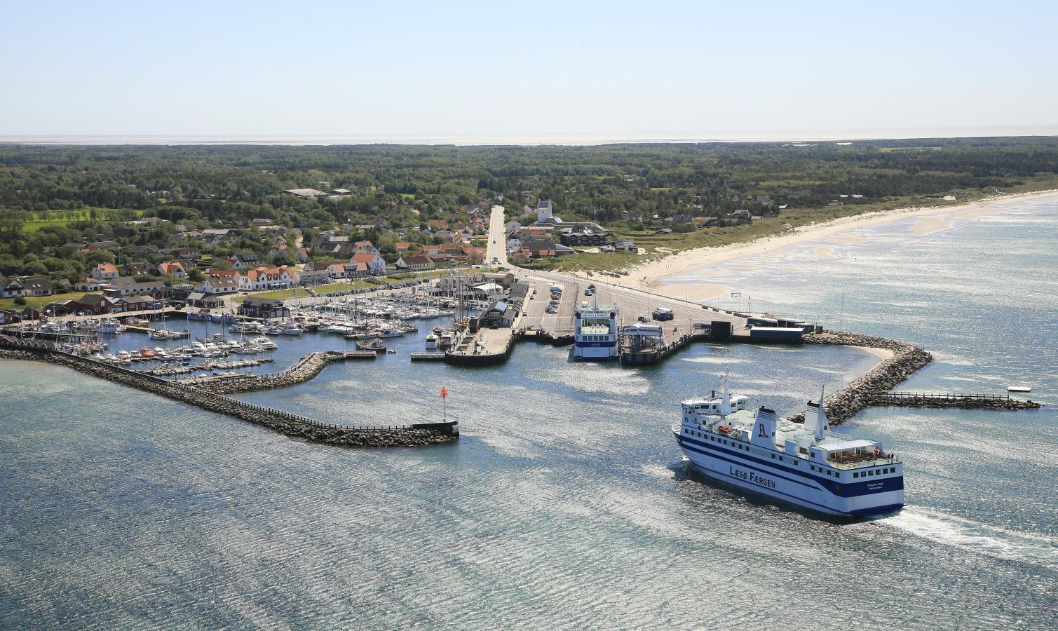 Læsø i Kattegat har denne sommer været en af de mest googlede danske destinationer. Det er færgeforbindelse fra nordjyske Frederikshavn, en sejltur på halvanden time. Foto fra Visitlaesoe.dk via VisitDenmark.