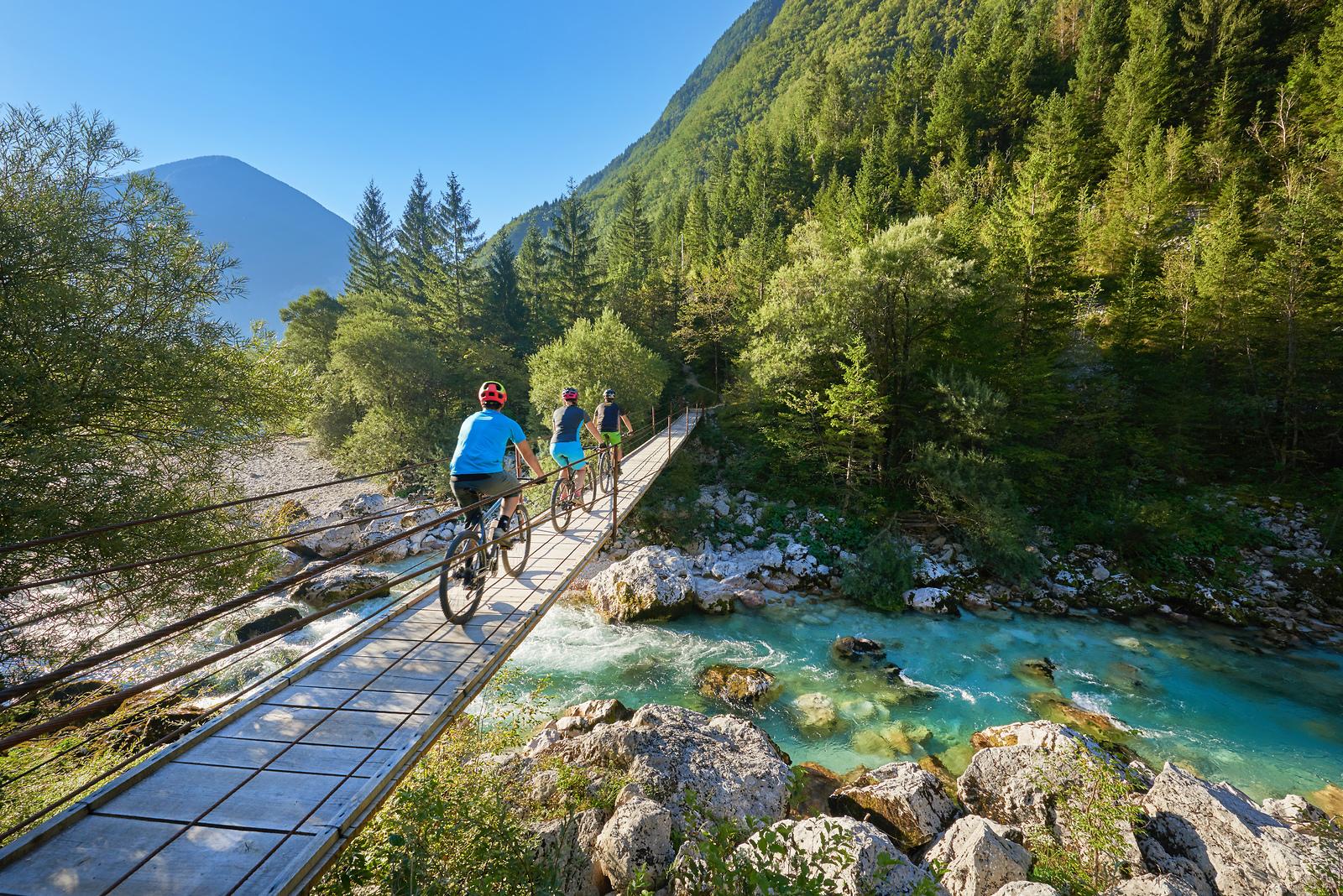 Slovenien er et af de fire europæiske lande, der torsdag kan blive orange i de danske rejsevejledninger som følge af for høje smittetal. Landet er i forvejen orange på grund af karantænekrav mod rejsende fra Danmark. Pressefoto: Slovenian Tourist Board.
