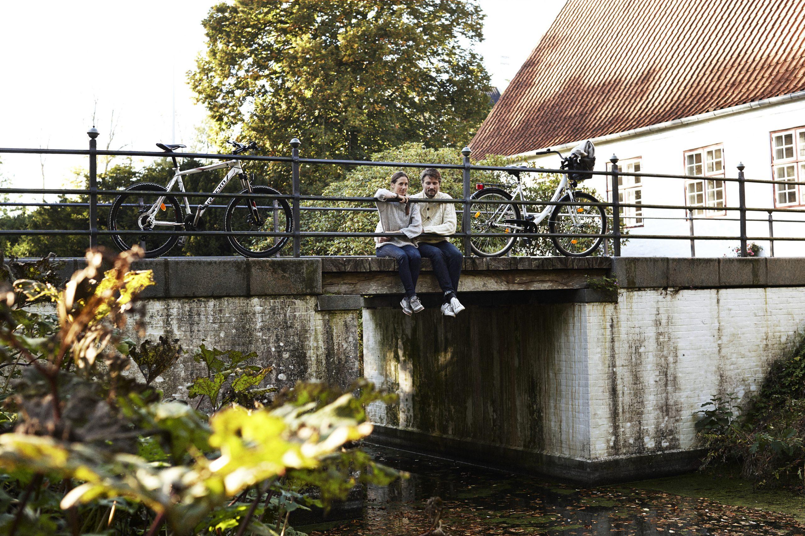 Der er afsat mange millioner kroner til at styrke dansk turisme på en lang række områder. Her arkivfoto fra sønderjyske Møgeltønder; foto: Niclas Jessen for VisitDenmark.