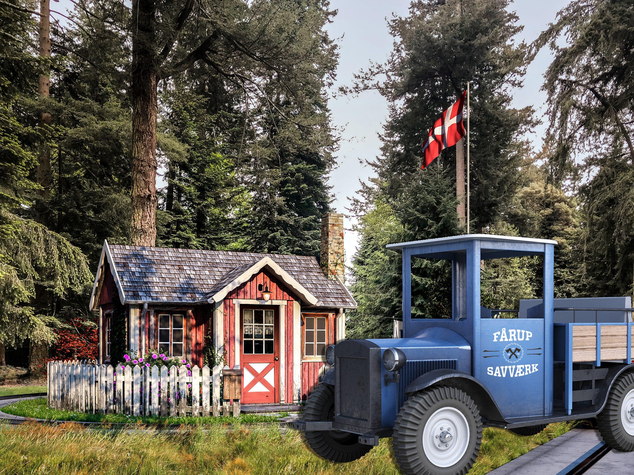 Fårup Sommerlands har i normale år cirka 600.000 besøgende, hvoraf hovedparten er danske turister. Pressefoto: Fårup Sommerland.