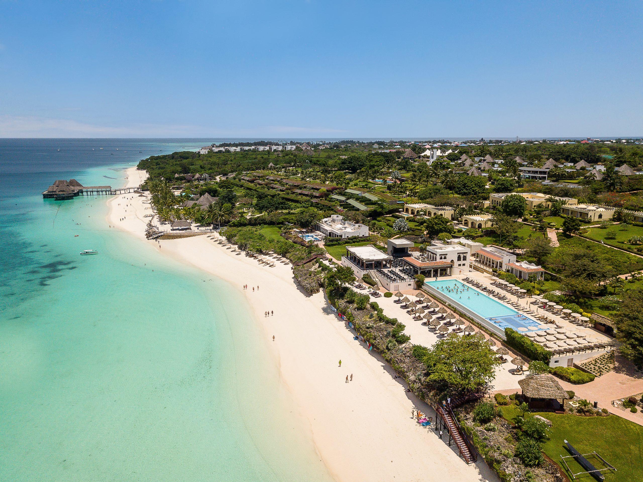 Zanzibar får snart nye flyforbindelser fra Europa. Blandt øens luksushoteller er Riu Palace Zanzibar. Den spanske hotelkæde har foreløbig 93 hoteller i 19 lande. PR-foto: RIU Hotels & Resorts.