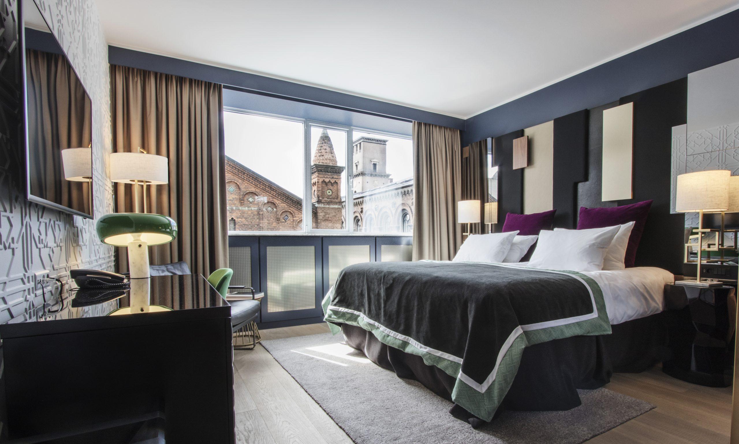 Det internationale rejsemagasin Conde Nast har rigtig mange lister over de bedste i rejsebranchen. En af dem dækker de 25 bedste nordeuropæiske hoteller, i 2020-udgaven topper københavnske Skt. Petri. Pressefoto: Skt. Petri.