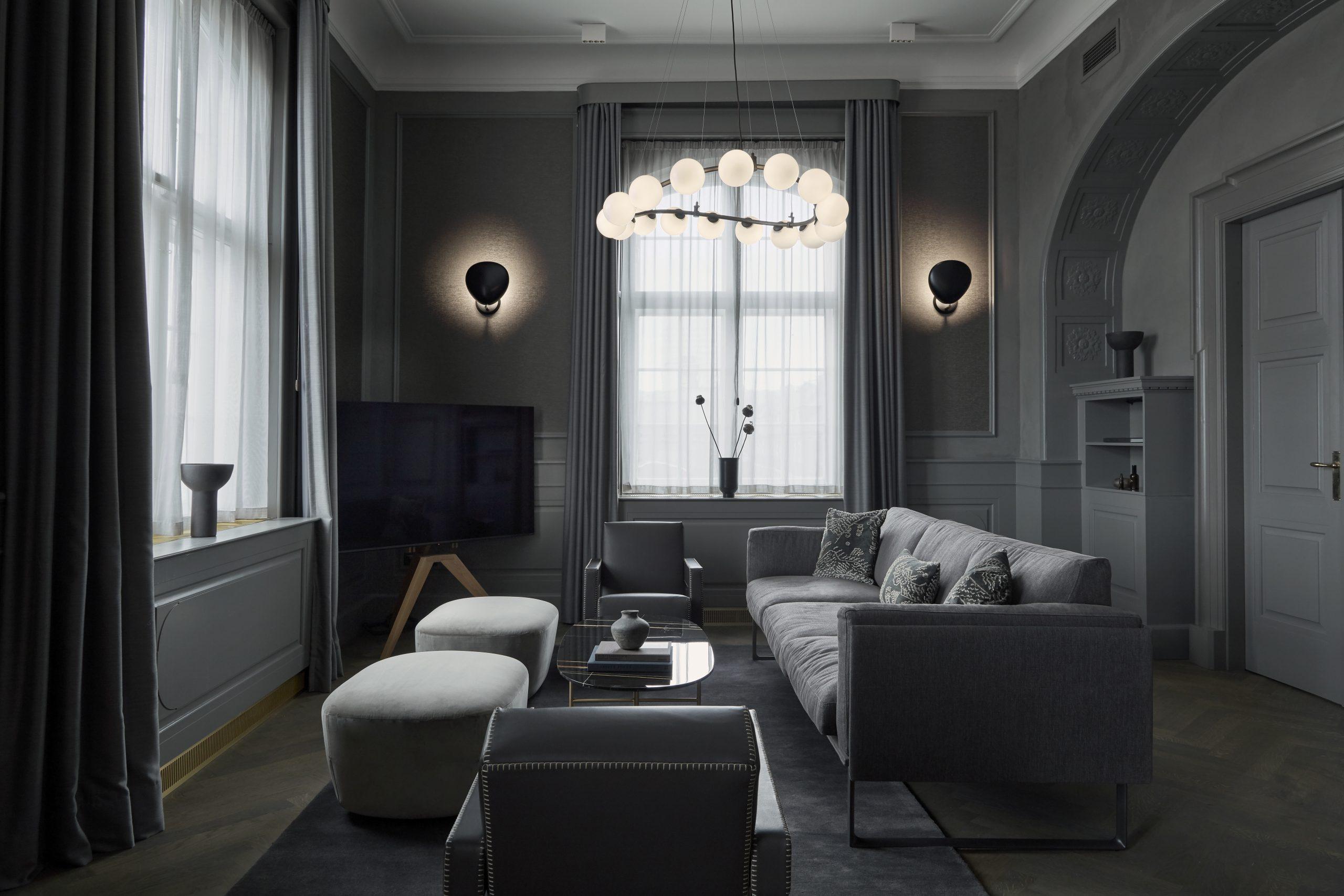 Blandt de nye hoteller der i år er åbnet i København er hovedstadens nye luksushotel, Villa Copenhagen, der blandt andet har Shamballe-suiten til en officiel pris af 55.000 kroner i døgnet. Pressefoto: Astrid Rasmussen.