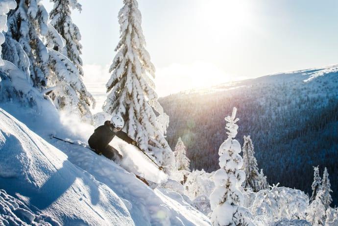 TUI vil starte flyvninger til det svenske skisportsrejsemål Sälen, der blandt andet ligger tæt på den norske grænse og skirejsemålet Trysil. Norsk Rejsebureau i Danmark planlægger en julecharter til Sälen. Pressefoto fra Sälen via TUI.