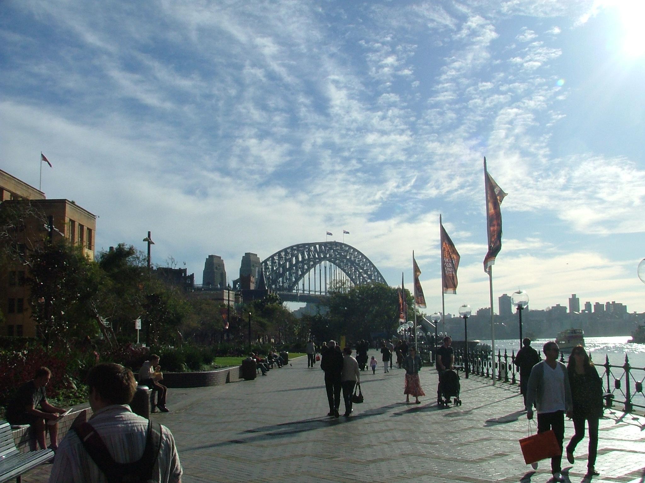 Der kan gå op til et år før Australien genåbner for turister fra for eksempel Europa, siger australsk minister. Arkivfoto fra Sydney: Henrik Baumgarten.