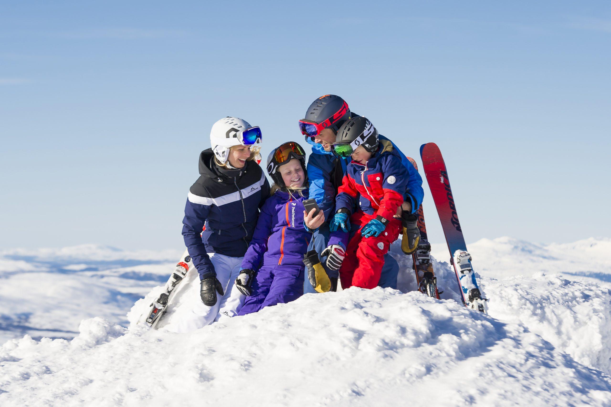 Europæiske ERV har udvidet samarbejdet med SkiStar, der ejer og driver Skandinaviens fem største skisportssteder samt St. Johann in Tyrol i Østrig. Pressefoto: SkiStar.