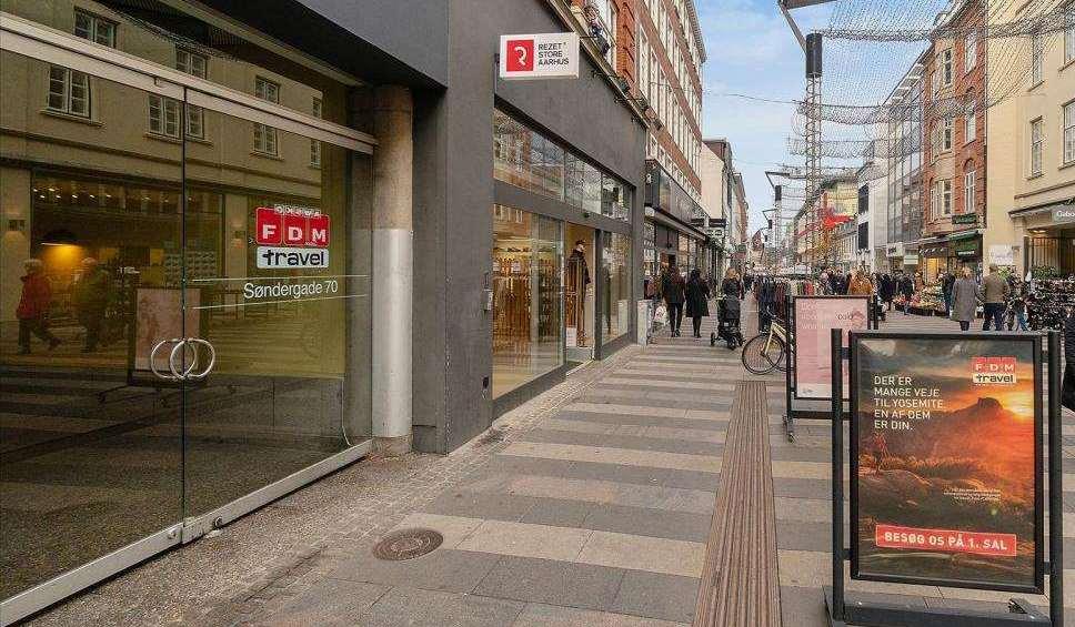 FDM Travel har igen måtte lukke to af sine danske rejsebutikker som følge af coronakrisen. Foto: Ejendomstorvet.dk