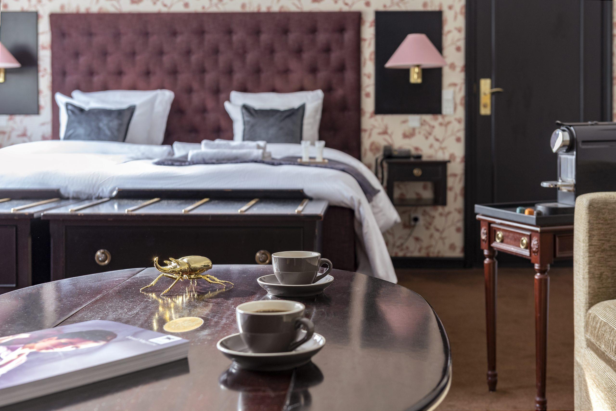 Det er hårde tider for de danske hoteller, navnlig hotellerne i hovedstaden er hårdt ramt under coronakrisen. Arkivpressefoto fra Hotel Kong Frederik ved Rådhuspladsen i København.