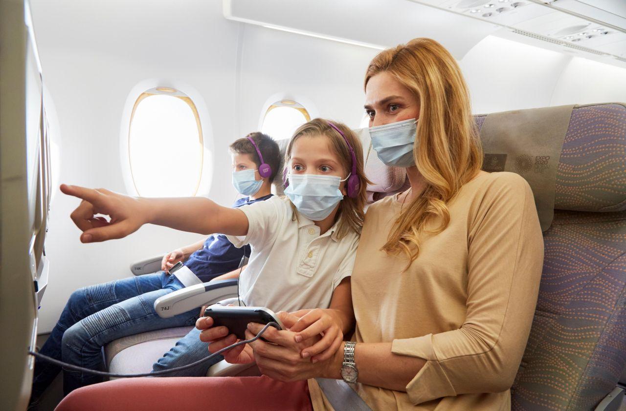 Et kommende coronapas, der viser hvilke vacciner, indehaveren har fået, kan igen gøre det nemmere for blandt andet flypassagerer at komme ind i andre lande. Arkivpressefoto fra Emirates.