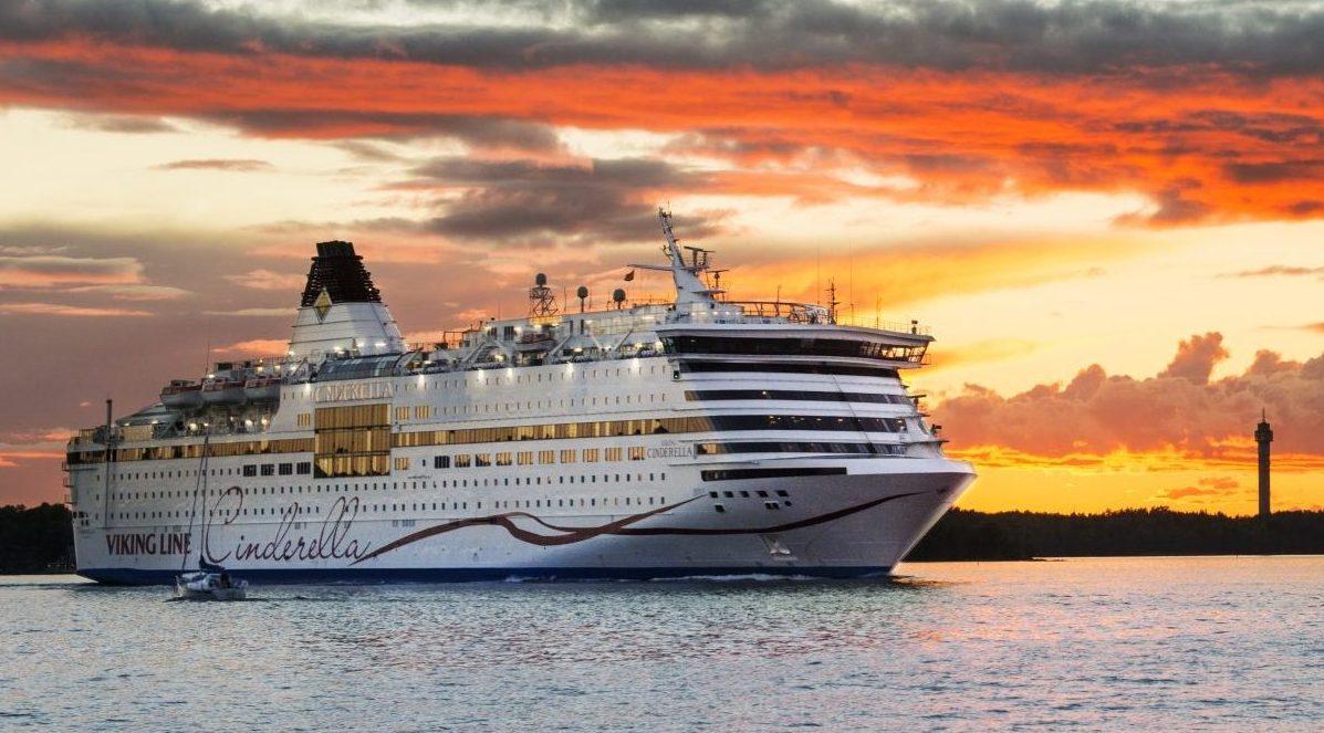 Bliver planen en realitet, så kommer svenske Viking Line fire gang næste sommer til Bornholm med krydstogter fra Stockholm, sejlet af skibet Viking Cinderella. Pressefoto: Viking Line.