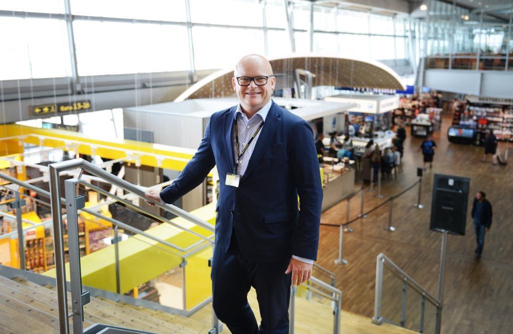 Jan Hessellund, til daglig administrerende direktør i Billund Lufthavn, er bestyrelsesformand for det nystiftede destinationsselskab Destination Trekantområdet. Arkivfoto: Joakim J. Hvistendahl.