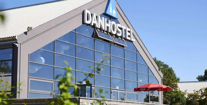 Danhostel Copenhagen Amager gik konkurs i efteråret, bygningen skulle alligevel nedrives for at give plads til en kommende ny bydel. Arkivfoto: Danhostel.