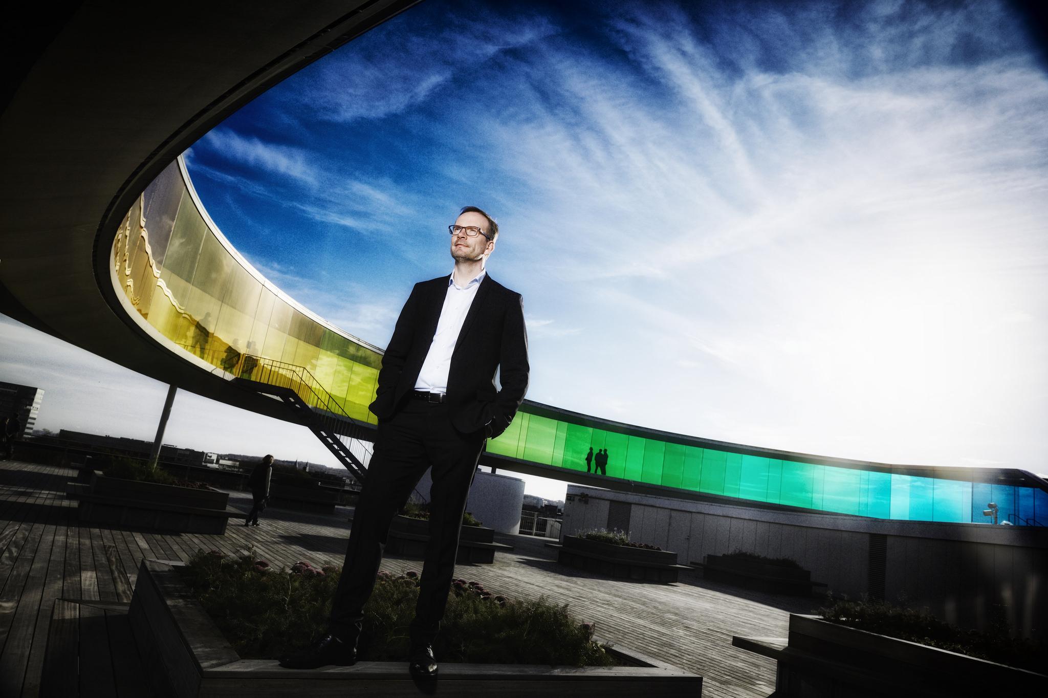 """""""Vi må forberede os på forskellige typer genåbninger,"""" siger Peer H. Kristensen, kommende administrerende direktør for et af de største af Danmarks 19 destinationsselskaber. Arkivpressefoto fra VisitAarhus."""