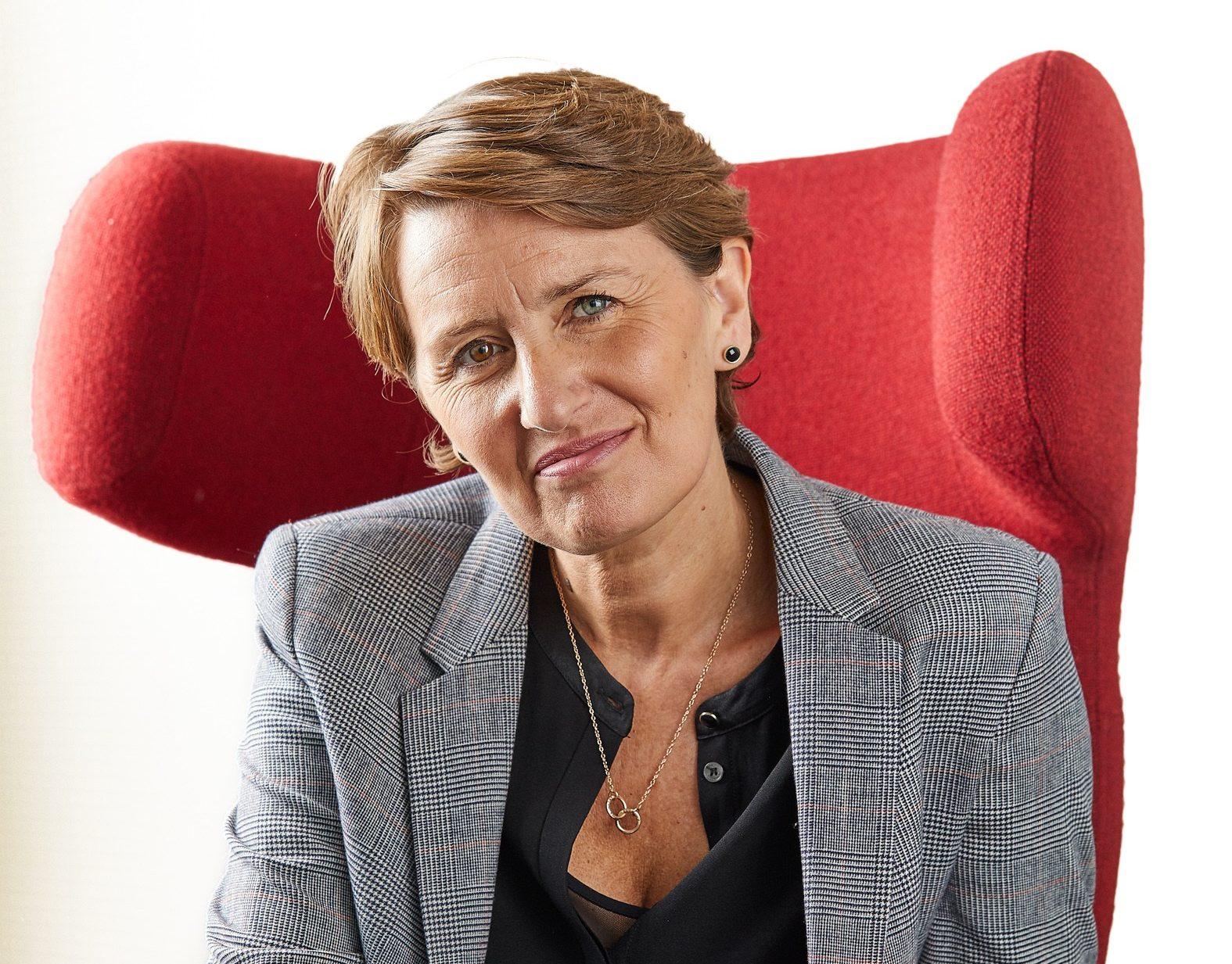 Rebecca Matthews, kommende direktør for Glasmuseet i Ebeltoft og tidligere direktør for Europæisk Kulturhovedstad Aarhus 2017, kom ved årsskiftet i VisitAarhus' bestyrelse. Foto: VisitAarhus.