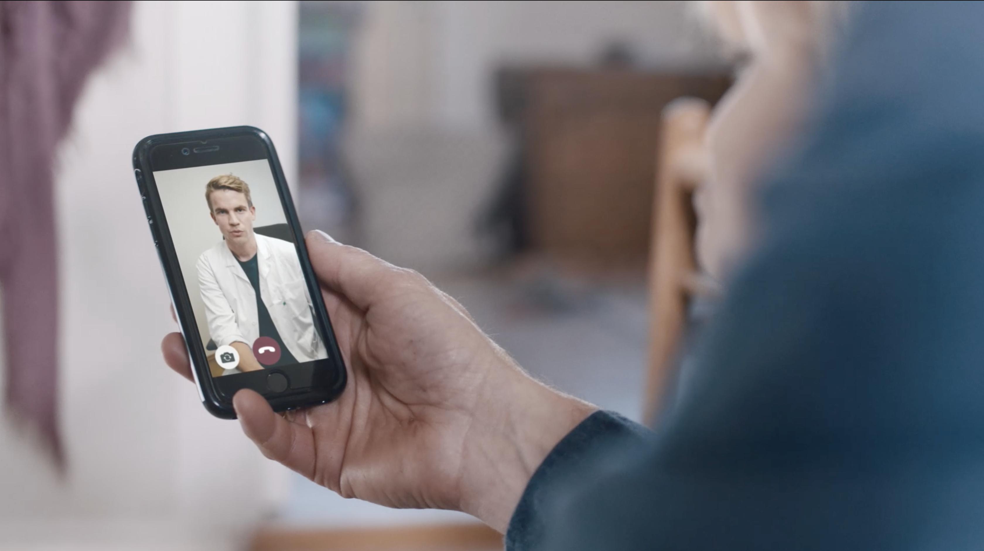 Europæiske ERV tilbyder nu videokonsultation med danske læger for rejseforsikringskunder på ferie i udlandet. PR-foto fra Europæiske ERV.