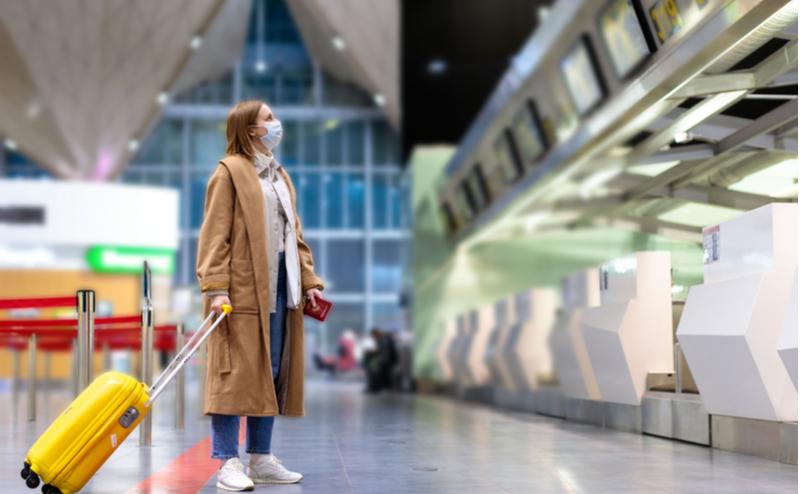 Riskline.com, der har hovedkontor i København, vurderer at 2021 vil byde på en delvis lindring af coronakrisen, men også at der er udsigt til flere naturkatastrofer, politiske uroligheder og øget kriminalitet. Linkedin-foto fra Transportation Security Administration.