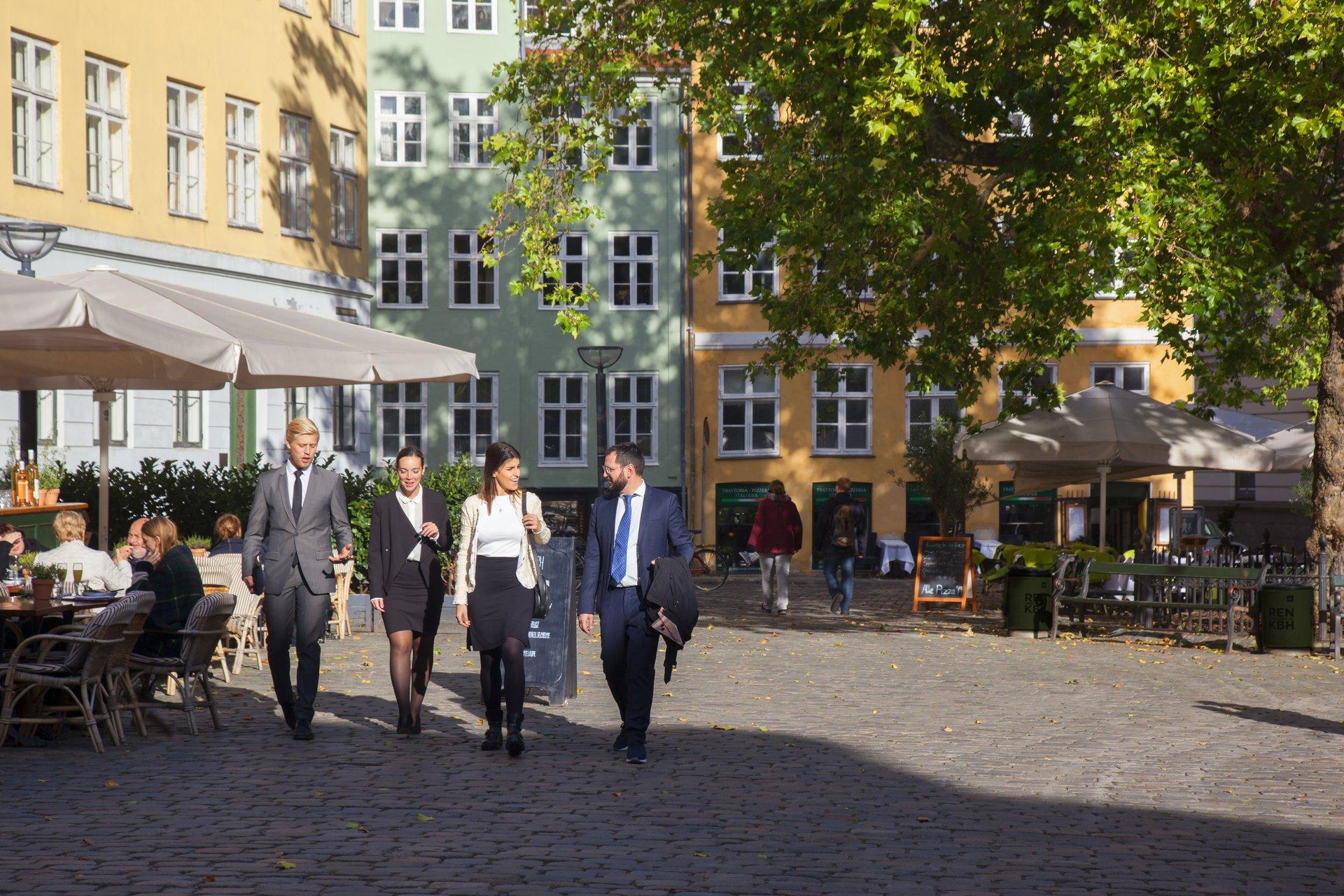 København, Aarhus, Odense og Aalborg går nu sammen om yderligere at styrke dansk storbyturisme. Her arkivpressefoto fra Wonderful Copenhagen: Kim Wyon.