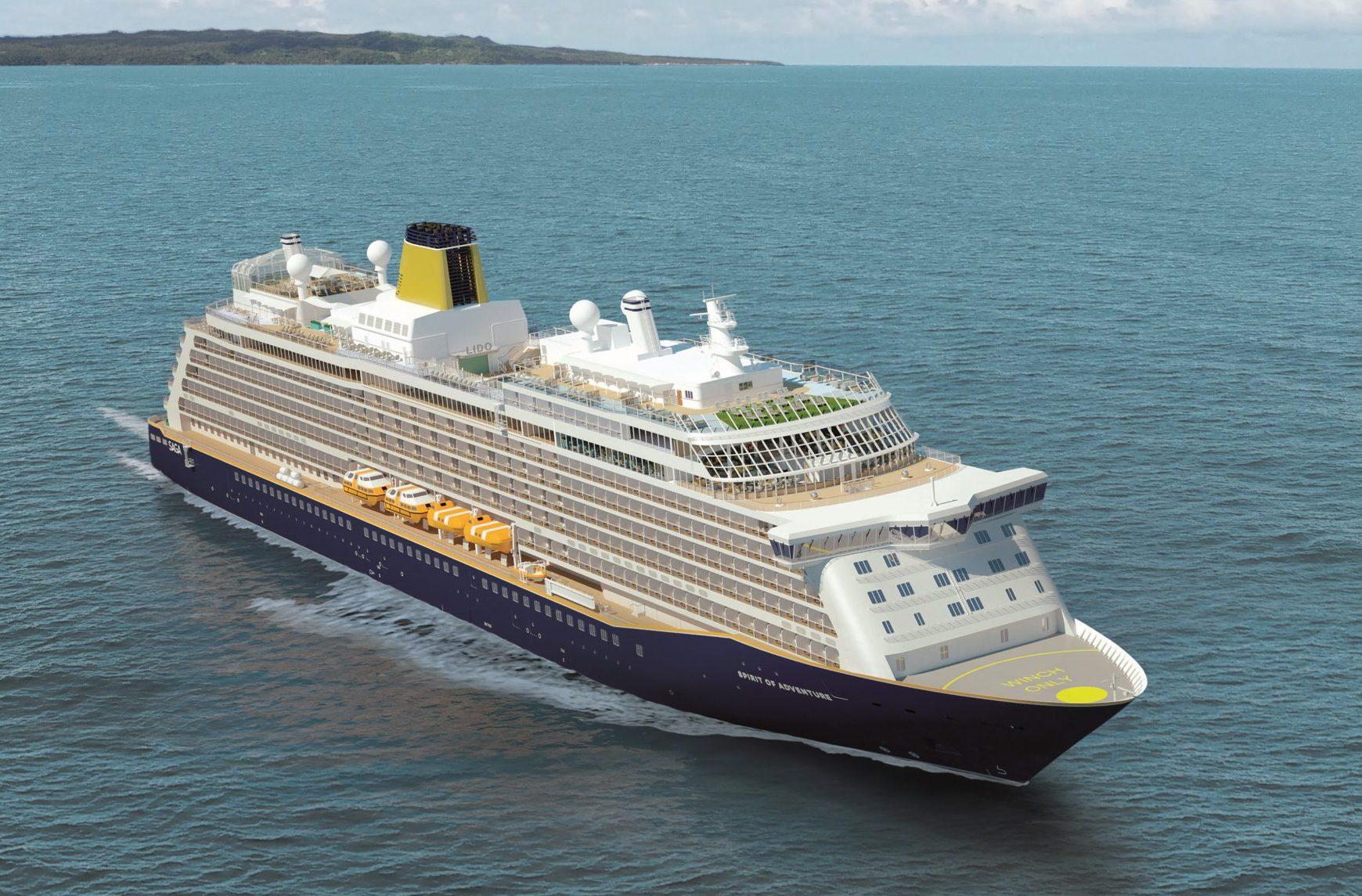 Saga Cruises, et mindre britisk krydstogtrederi, har som branchens første meddelt, at dets passagerer skal være coronavaccineret, før de kan komme ombord. PR-foto.