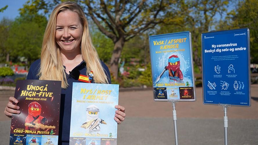 Forkortede sæsoner under coronakrisen betød fald i sidste års højsæson for mange oplevelsessteder, for eksempel forlystelsesparker som Legoland i Billund, viser ny opgørelse fra Danmarks Statistiks kulturvaneundersøgelse. Arkivfoto fra Legoland.