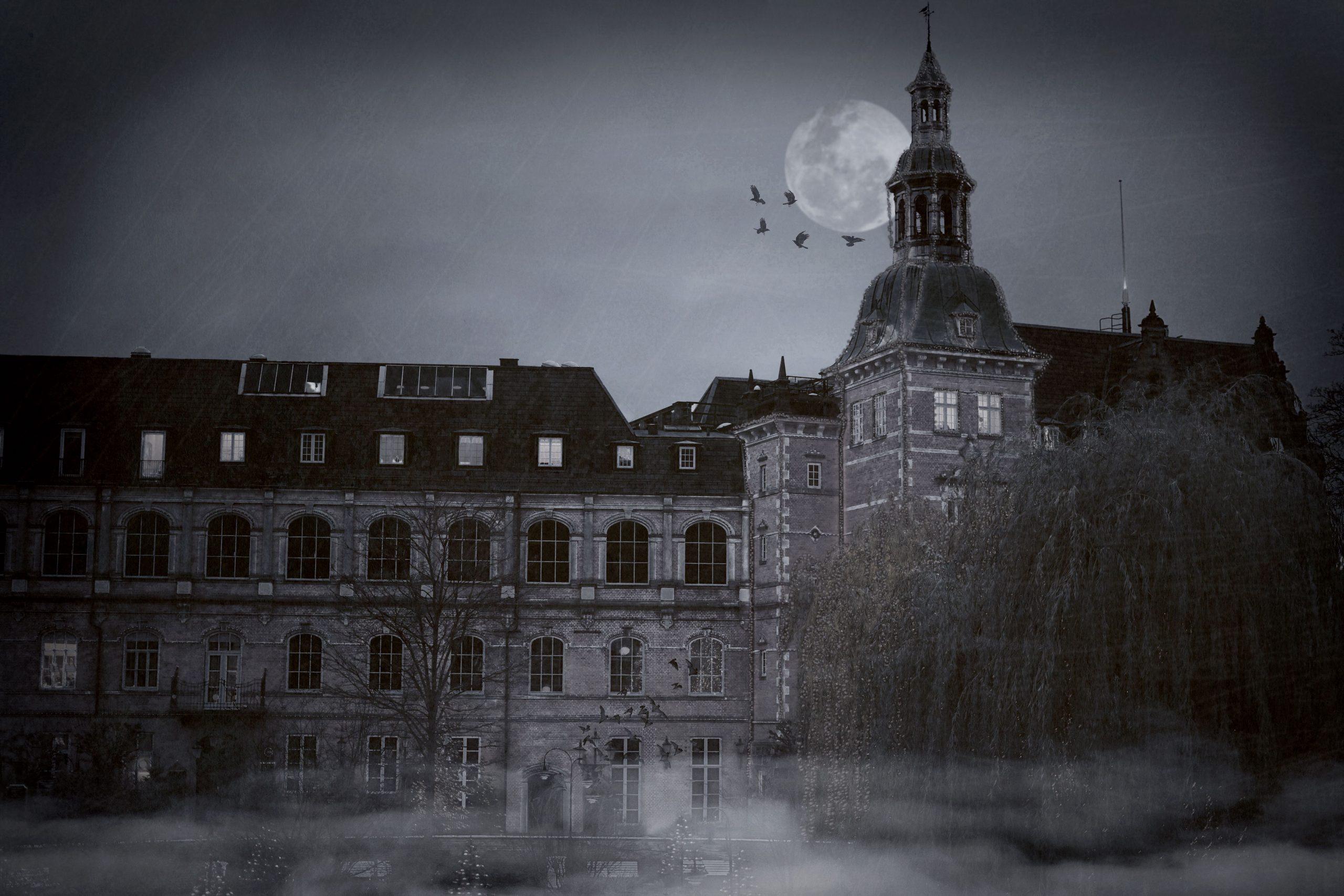 Villa Vendetta, en ny scary-forlystelsesoplevelse i H.C. Andersen Slottet, åbner i forbindelse med Tivolis sommersæson. Illustrationsfoto for Tivoli: Mikkel Trudslev Jensen.