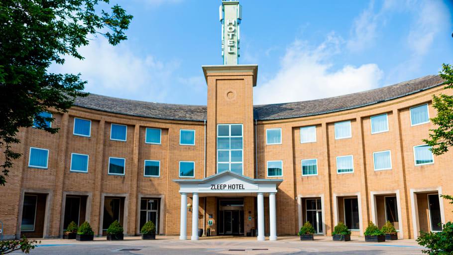 Zleep Hotel Høje Taastrup er i øjeblikket et af Danmarks mest medieomtalte hoteller. Arkiv-PRfoto fra Zleep Hotels.