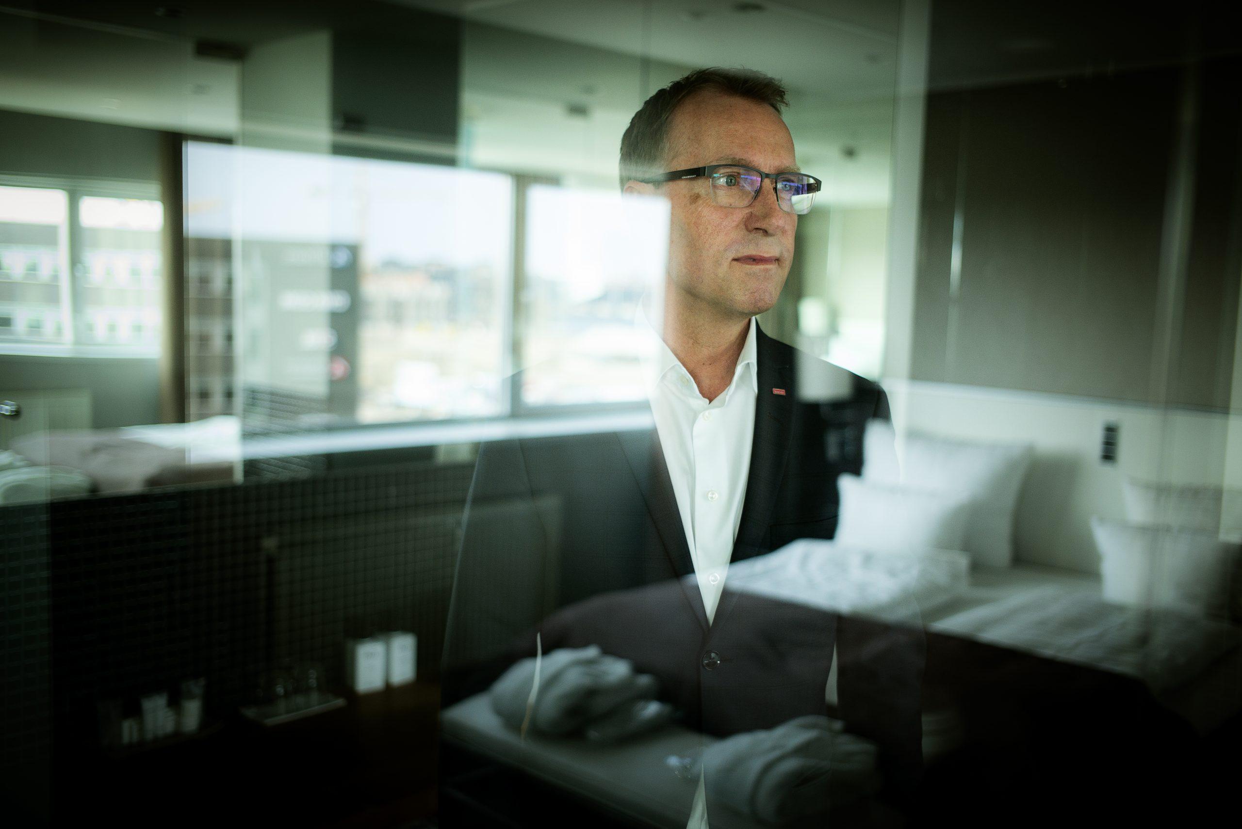 Jens Mathiesen, den danske koncernchef for Scandic Hotels, har præsenteret et barskt 2020-regnskab for Nordens største hotelkæde. Arkivpressefoto fra Scandic Hotels.