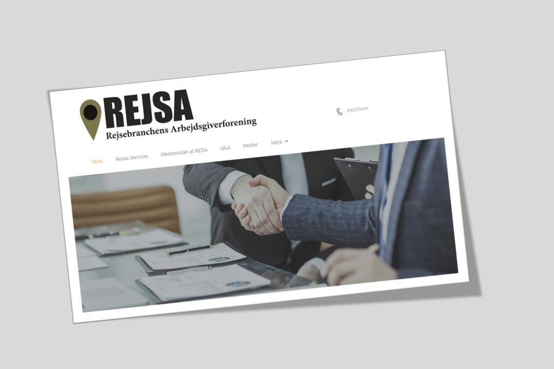 Rejsa – Rejsebranchens Arbejdsgiverforening – er stiftet af de udgående rejsebureauer Check Point Travel og Hannibal Travel, Danmarks største flybilletgrossist, Billetkontoret, og incomingbureauet Nordic Tours.