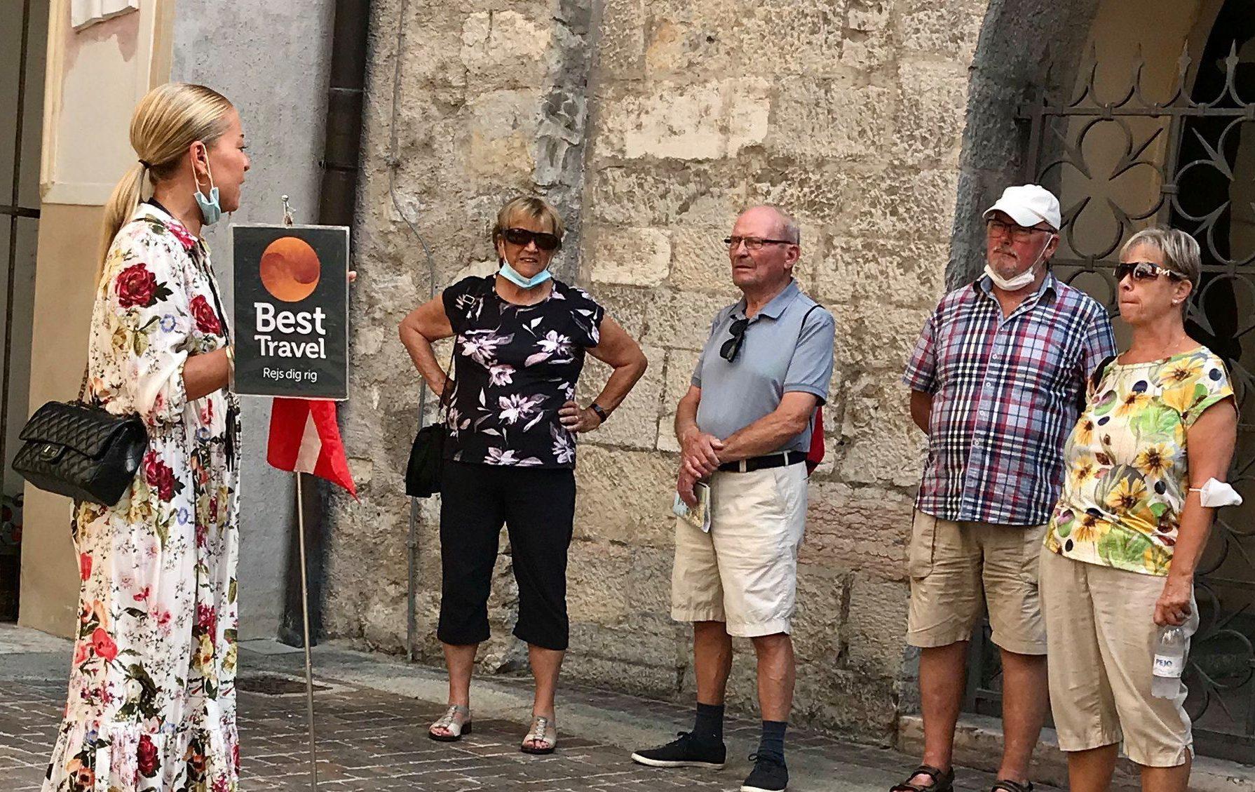 En af de få rejser, Best Travel sidste år fik gennemført var en bustur ved Gardasøen. Facebookfoto fra Best Travel.