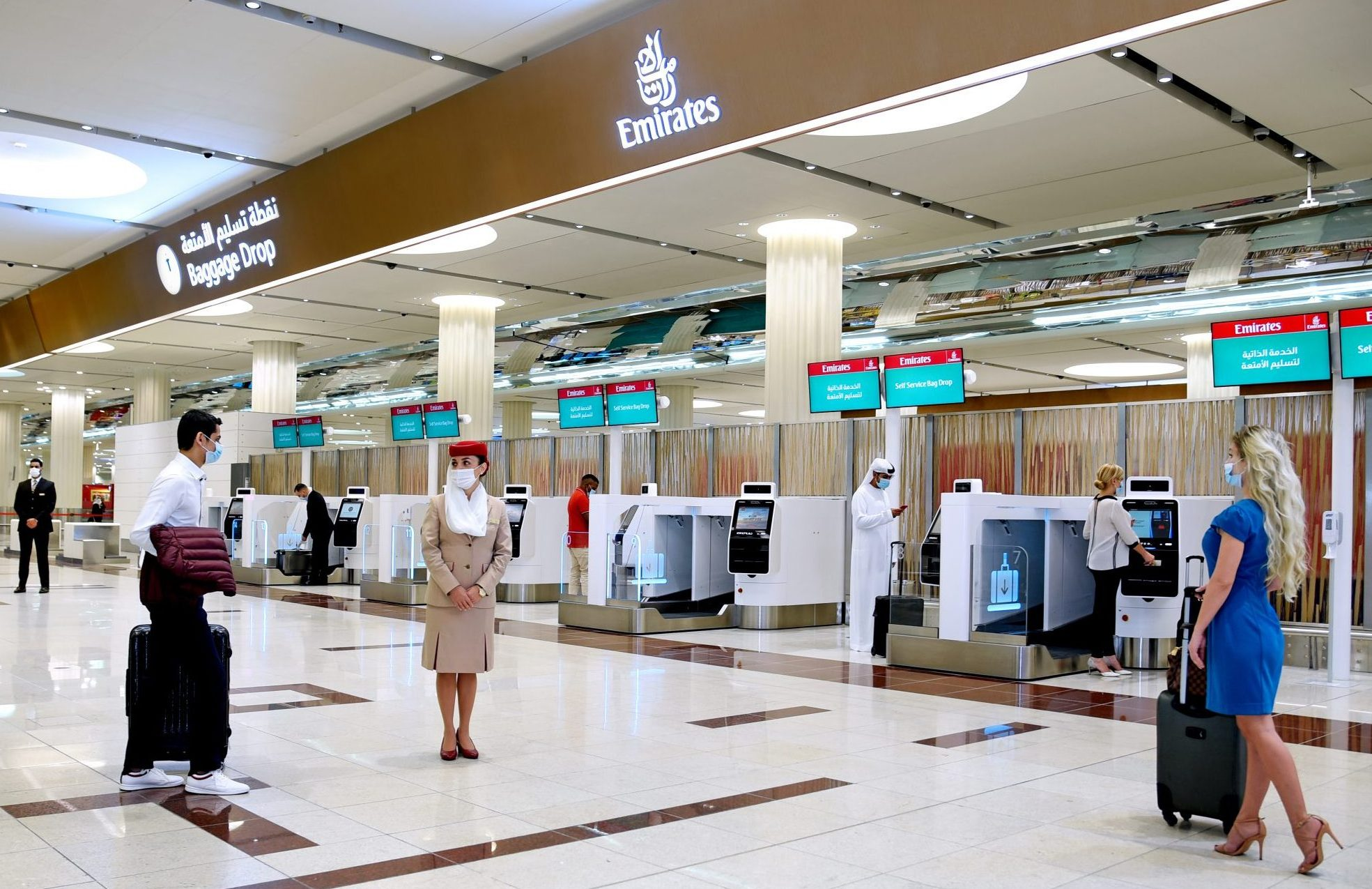 Emirates vil gerne have flere rejsebureauagenter til at booke via sin NDC-platform, Emirates Gateway, der indeholder billigere produkter, end partnerne kan få via reservationssystemerne, oplyser flyselskabet. Pressefoto fra Emirates.